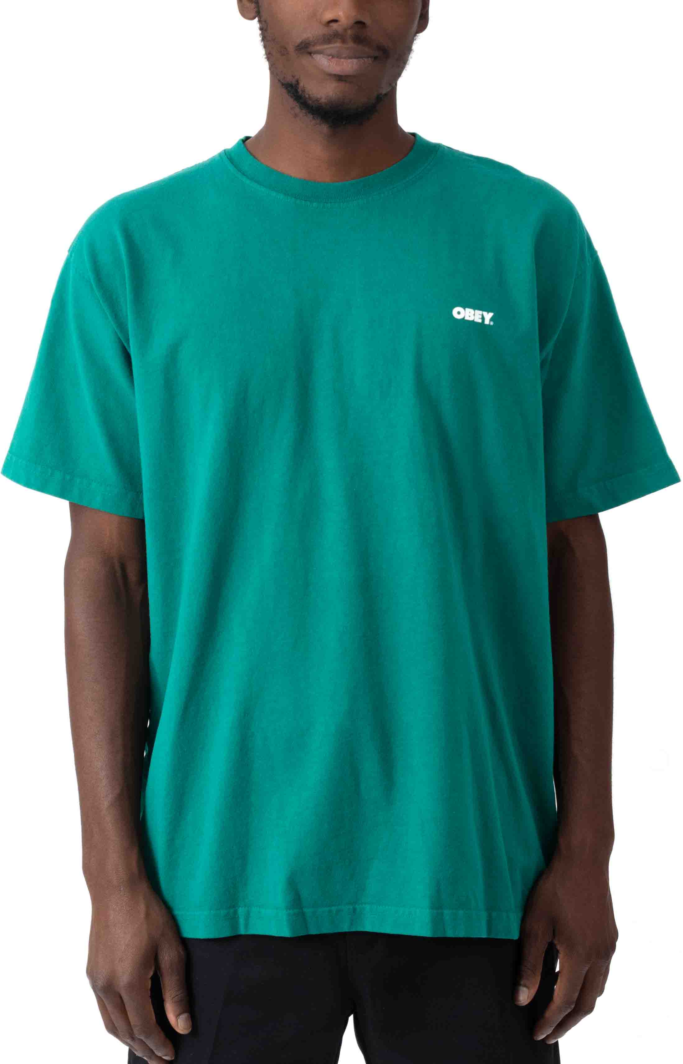 Obey Bold 2 T-Shirt - Ivy