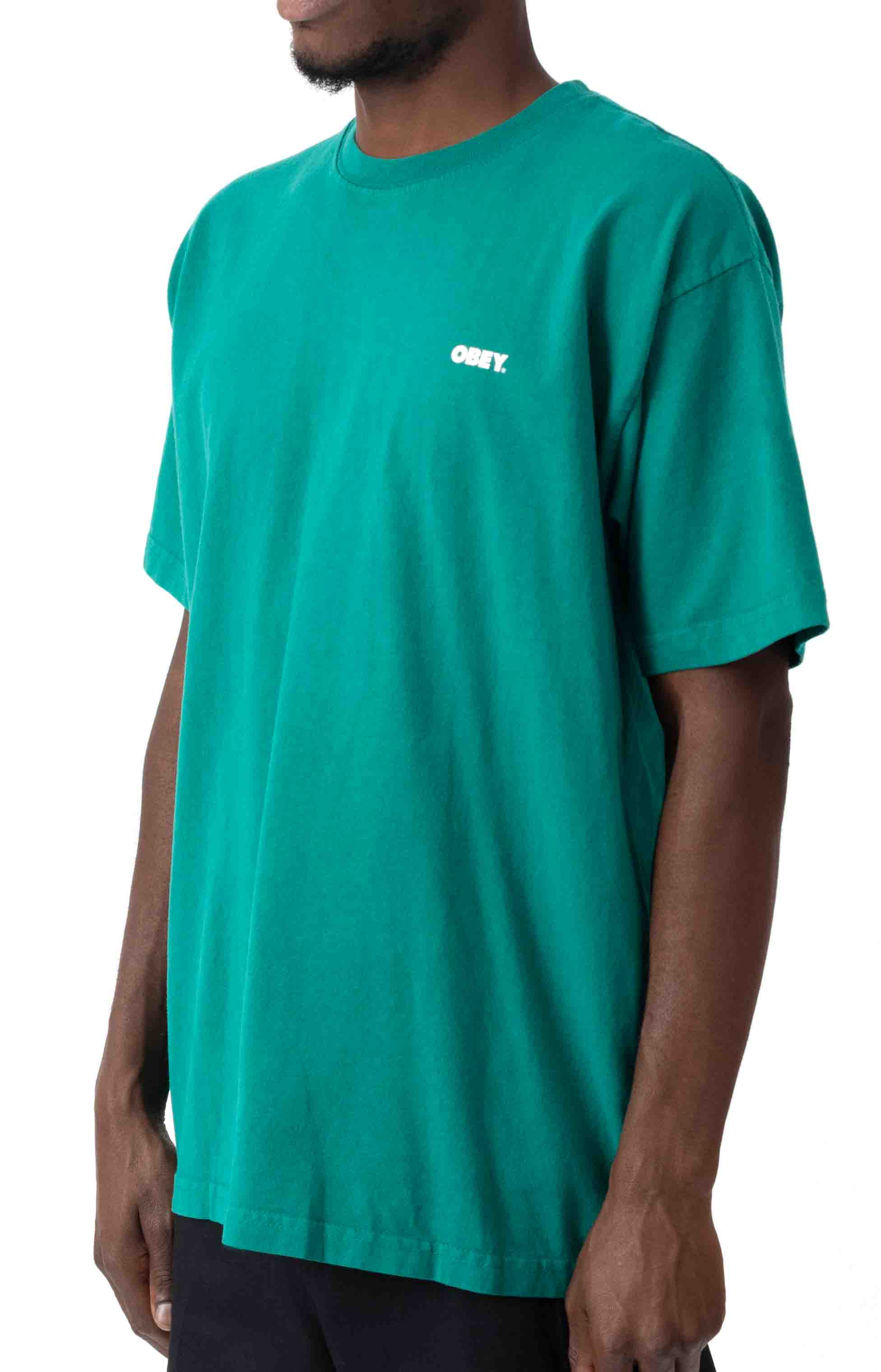 Obey Bold 2 T-Shirt - Ivy 2