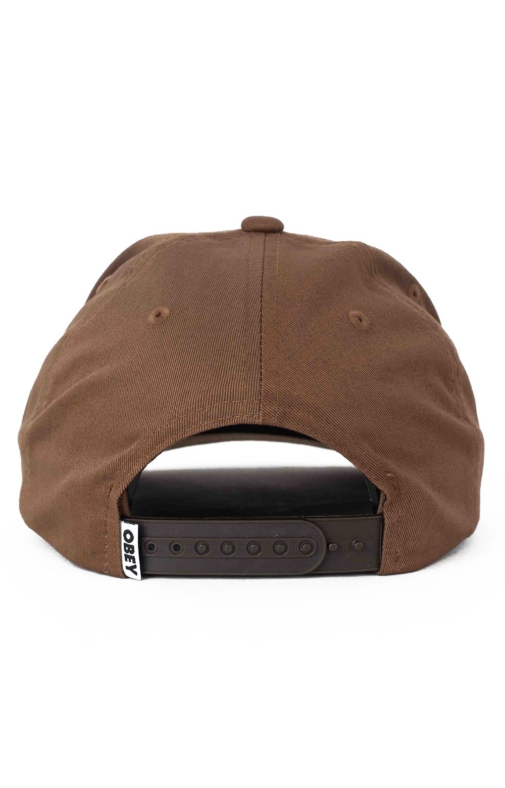 Lowercase Snap-Back Hat - Brown 3