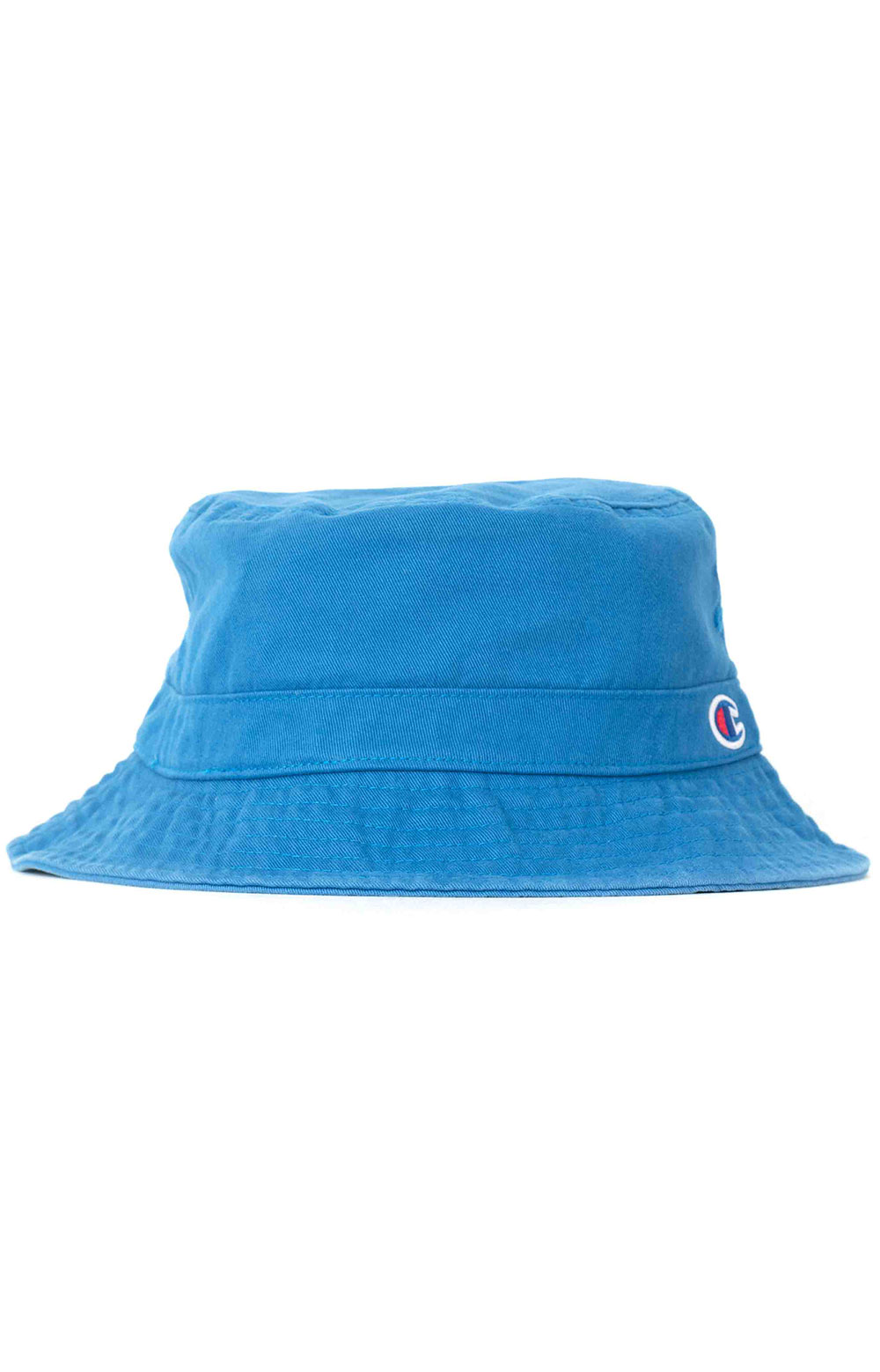 Garment Washed Relaxed Bucket Hat - Living In Blue  3