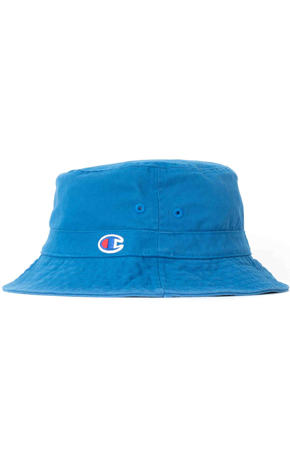Garment Washed Relaxed Bucket Hat - Living In Blue