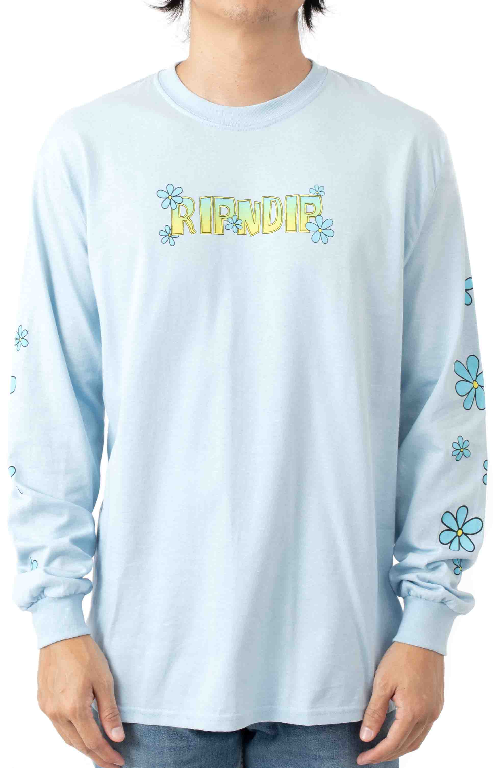 Lonely Lover L/S Shirt - Light Blue