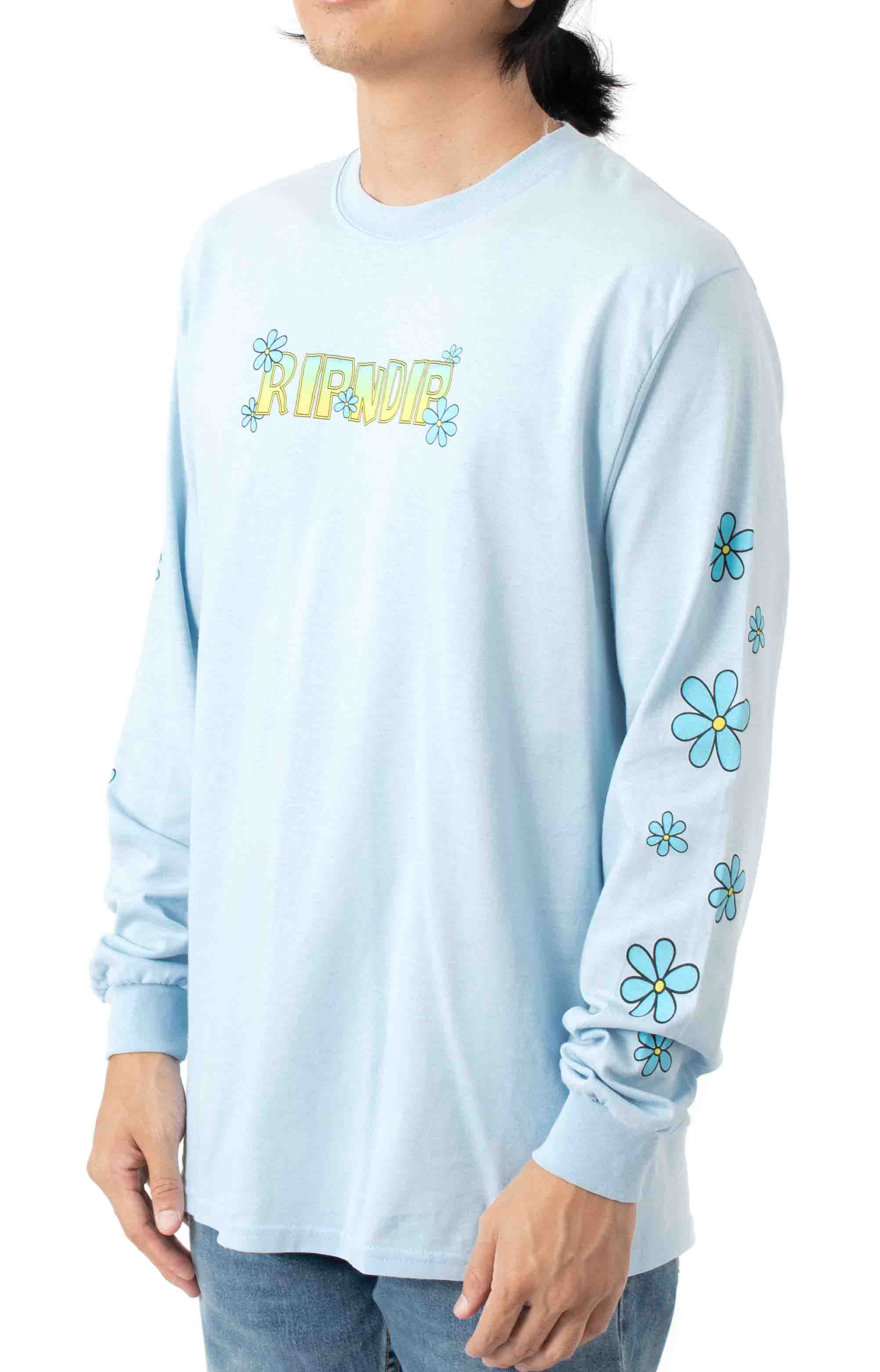 Lonely Lover L/S Shirt - Light Blue  2