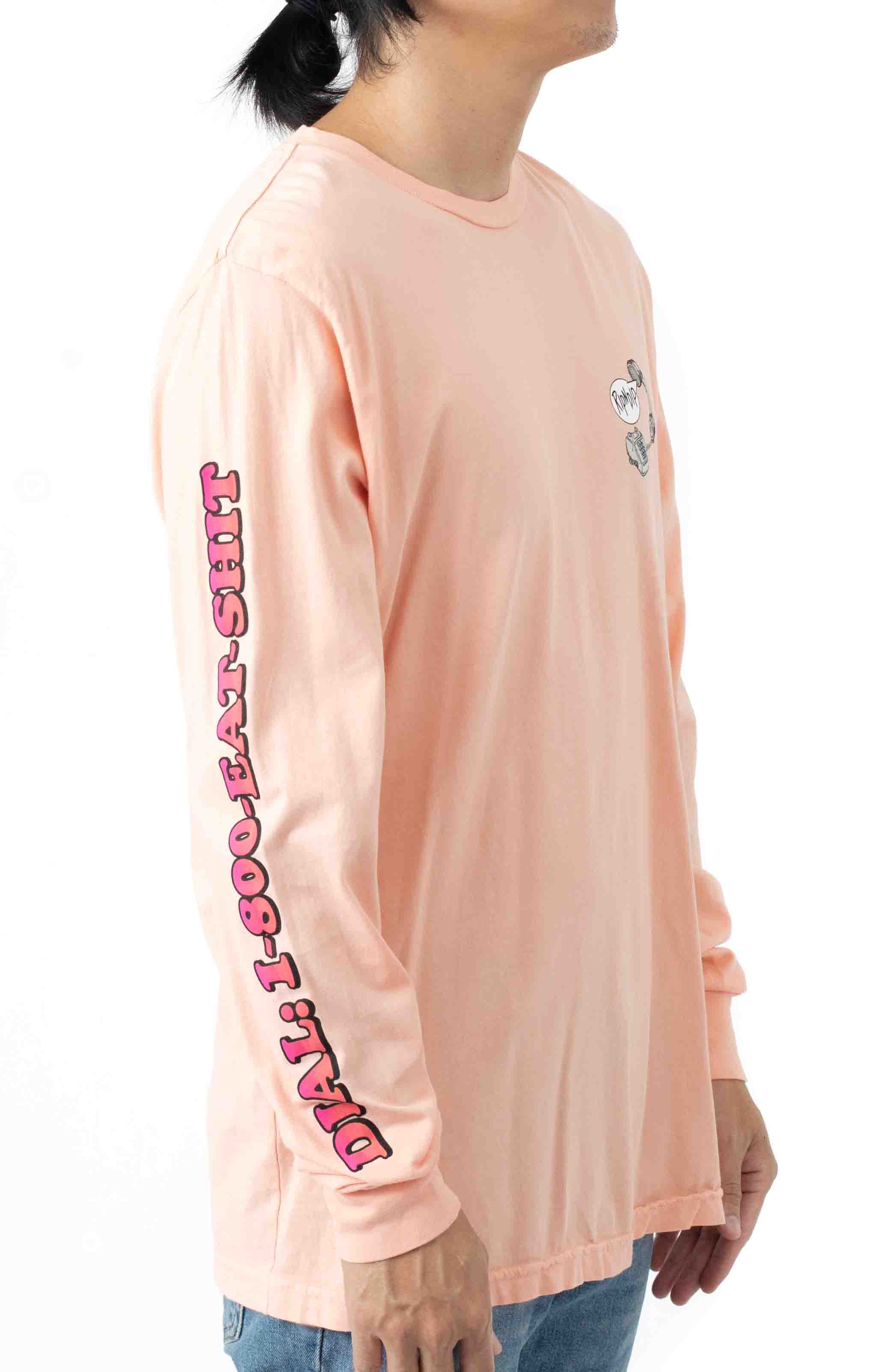Hows My Attitude L/S Shirt - Dusty Rose  3