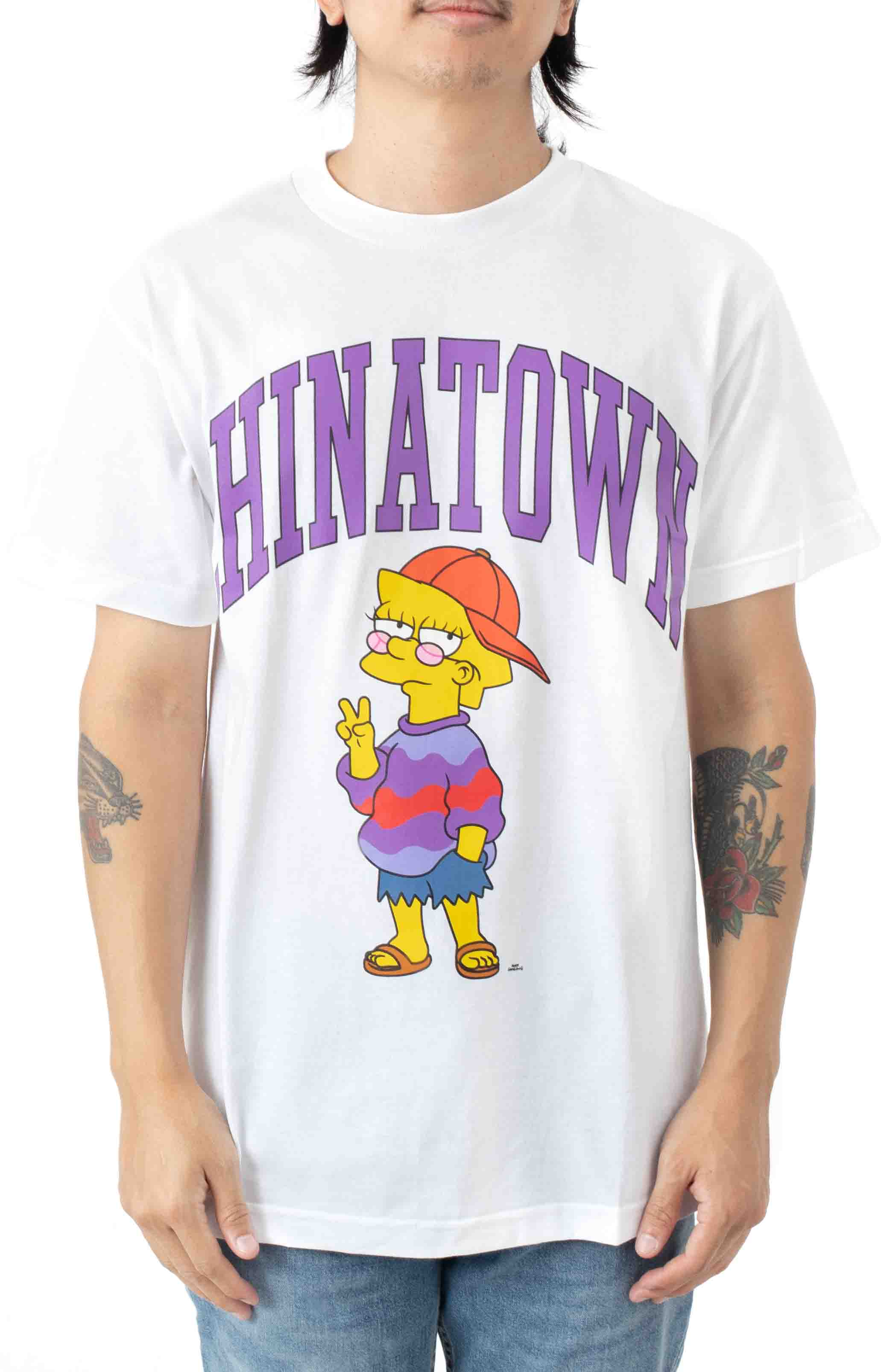 Like You Know Whatever Arc  T-Shirt - White