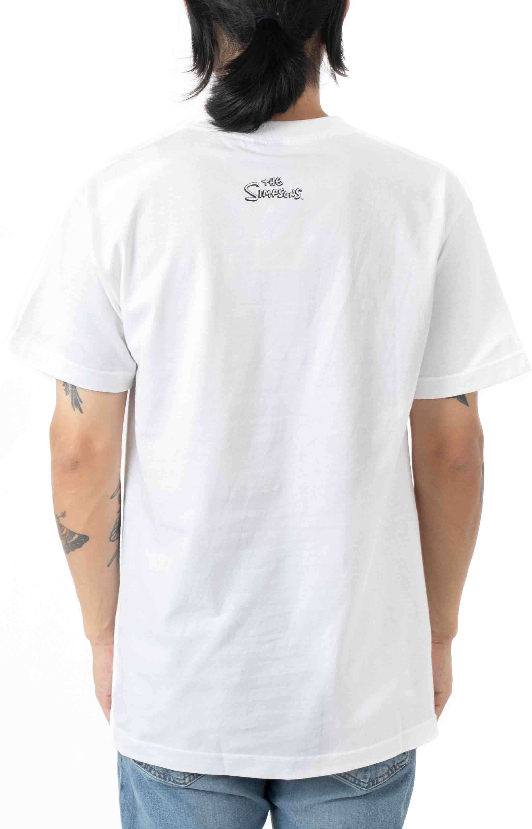 Like You Know Whatever Arc  T-Shirt - White  3