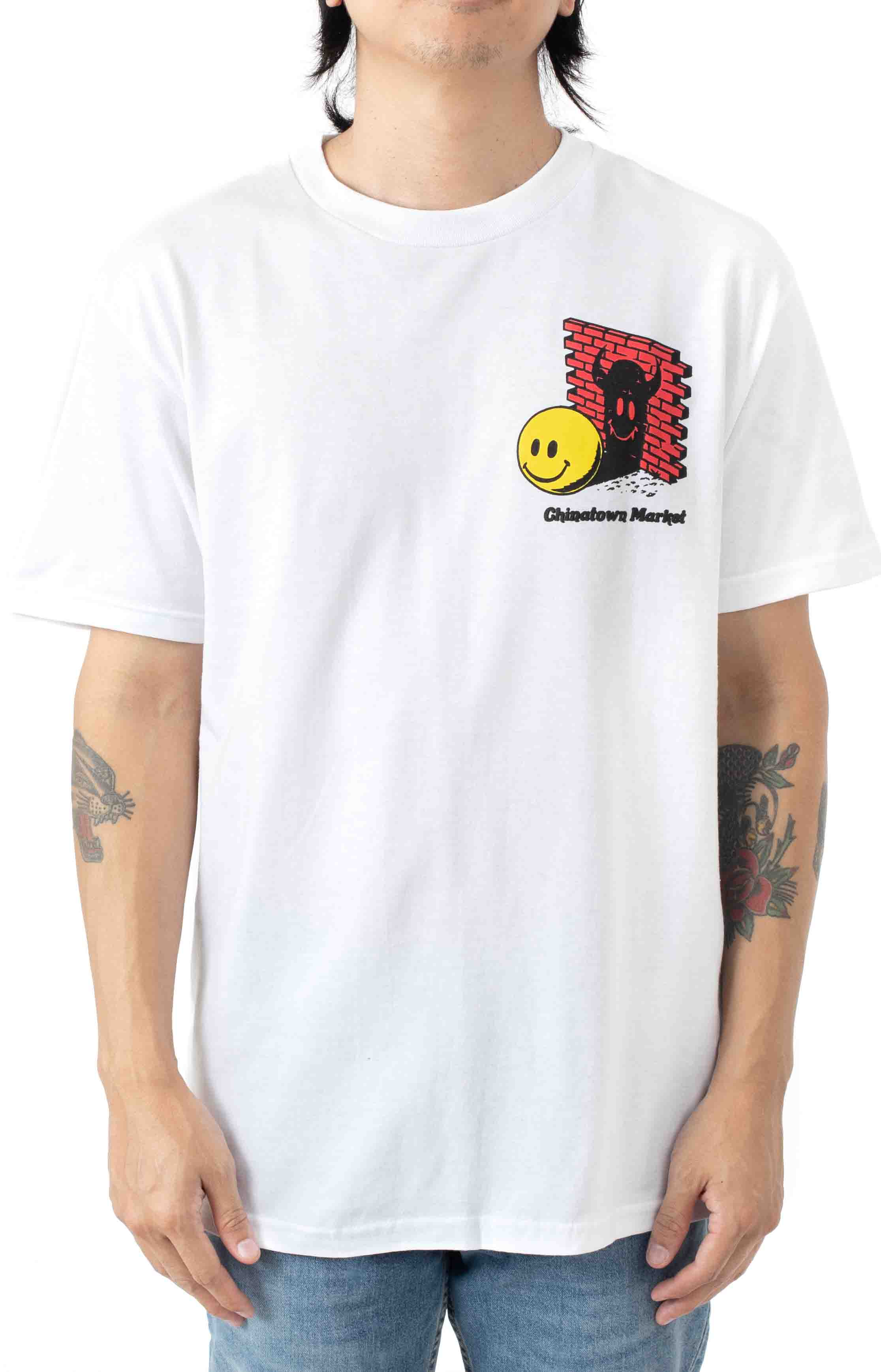Smiley Find the Light T-Shirt - White  2