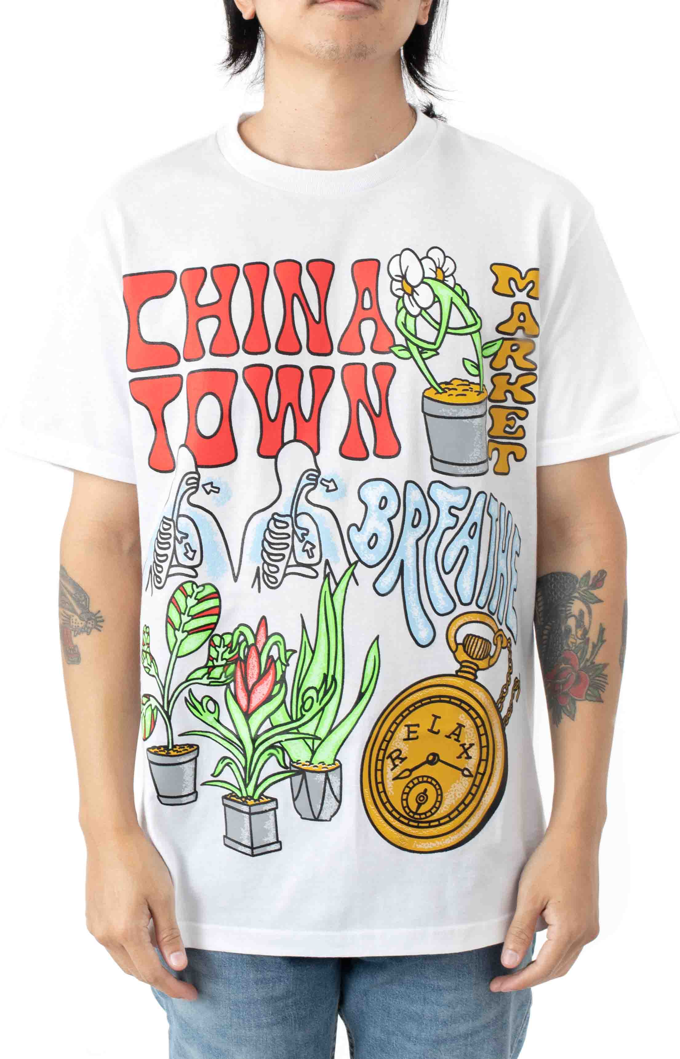 Chinatown Time Lord T-Shirt - White