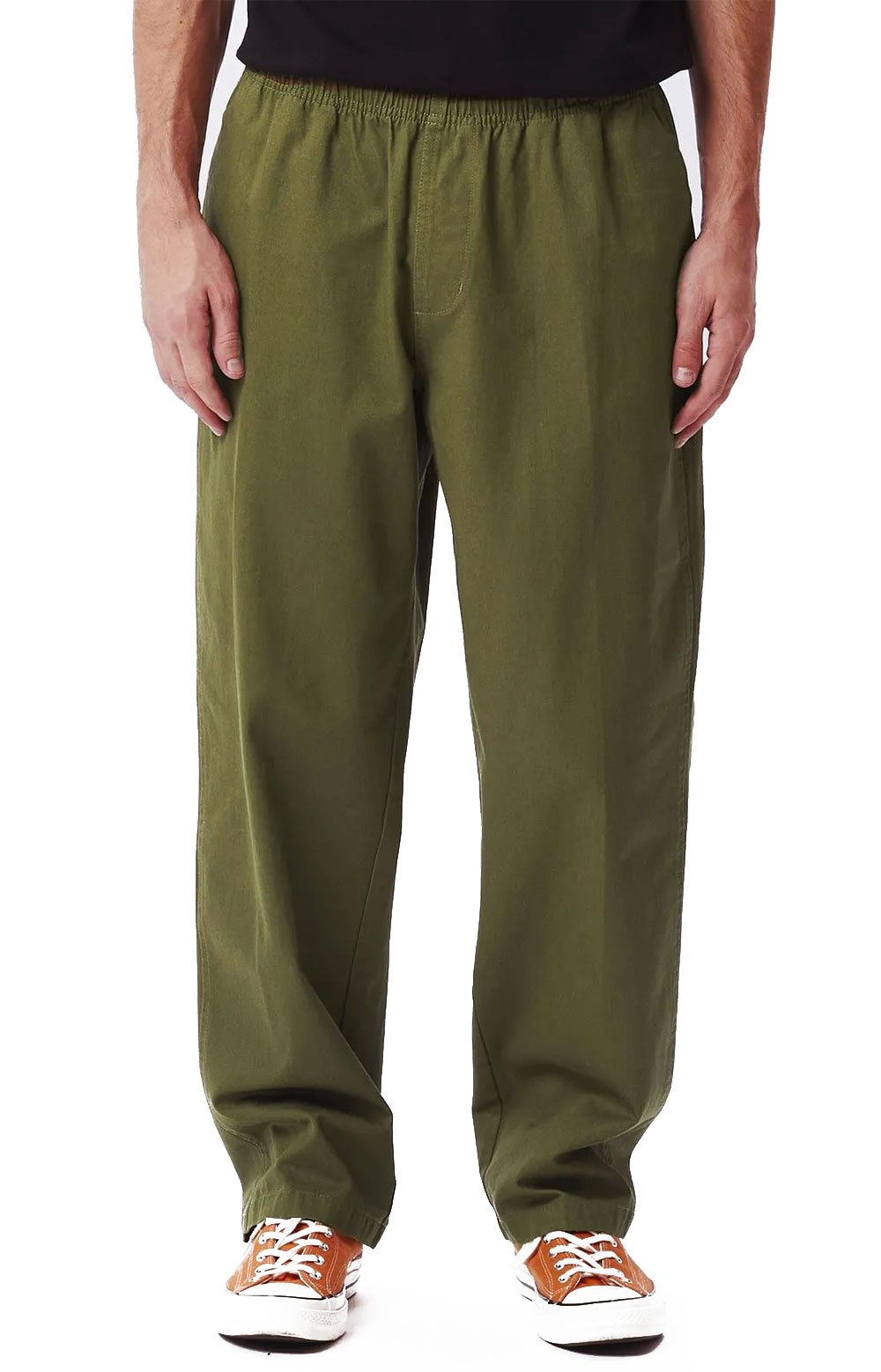 Easy Twill Pant - Army Tent