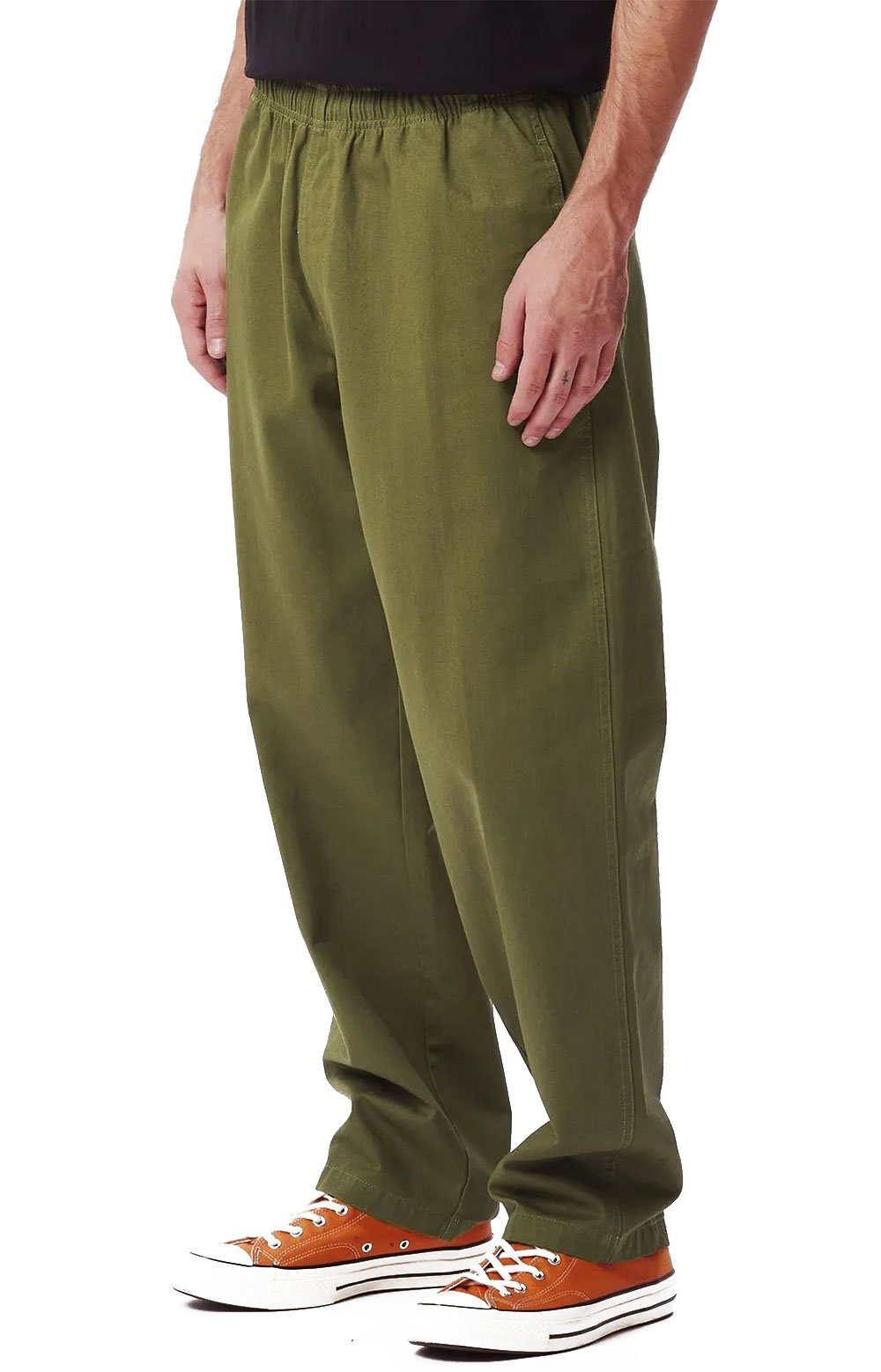 Easy Twill Pant - Army Tent  2