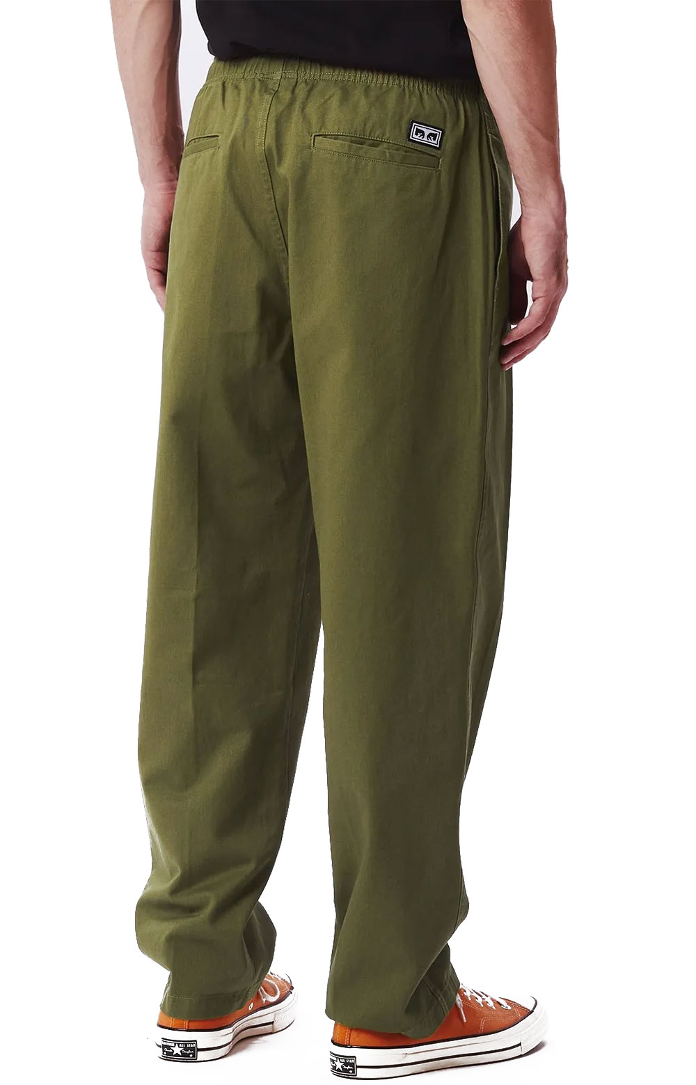 Easy Twill Pant - Army Tent  3