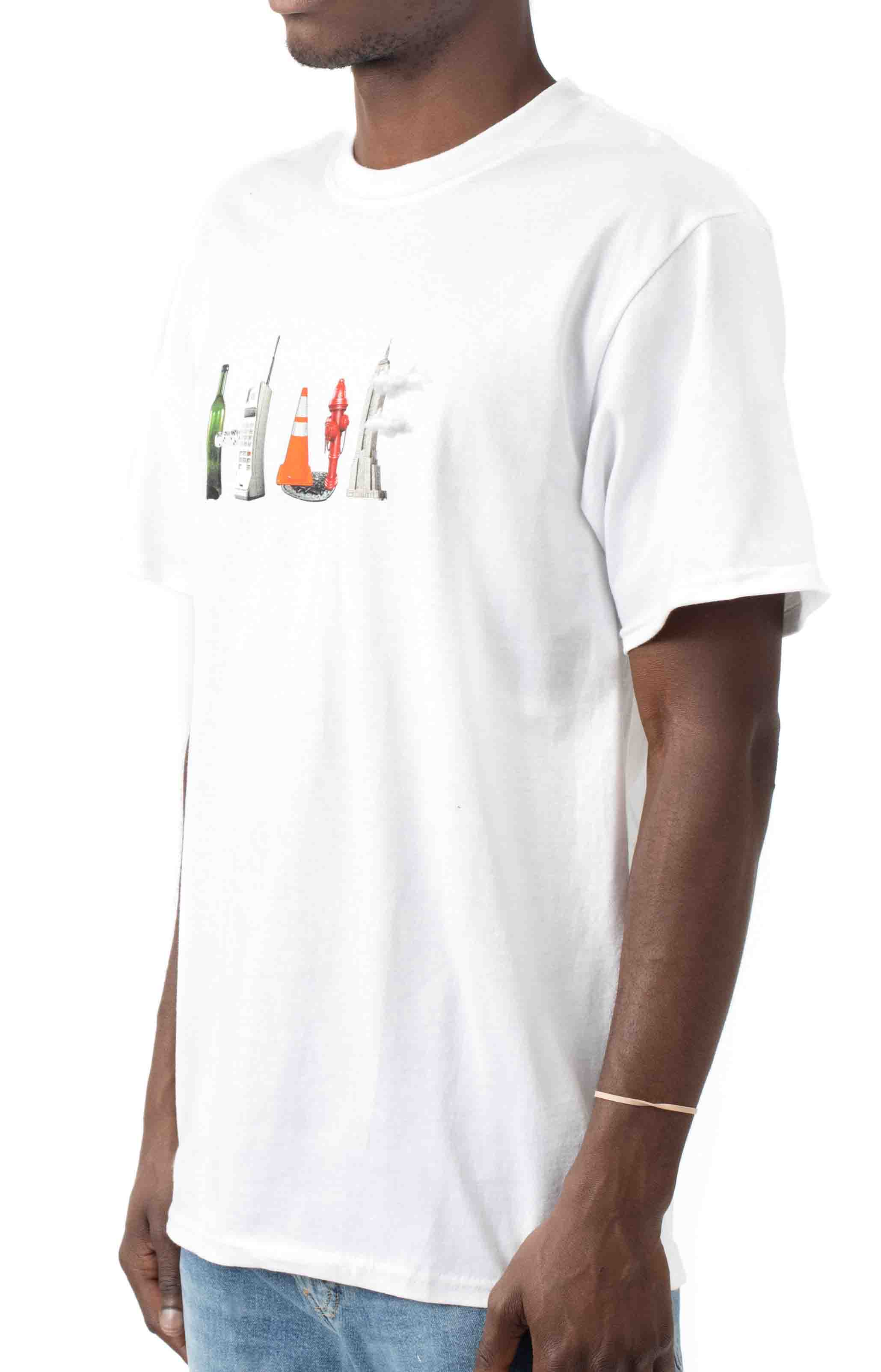 Objectified T-Shirt - White  2