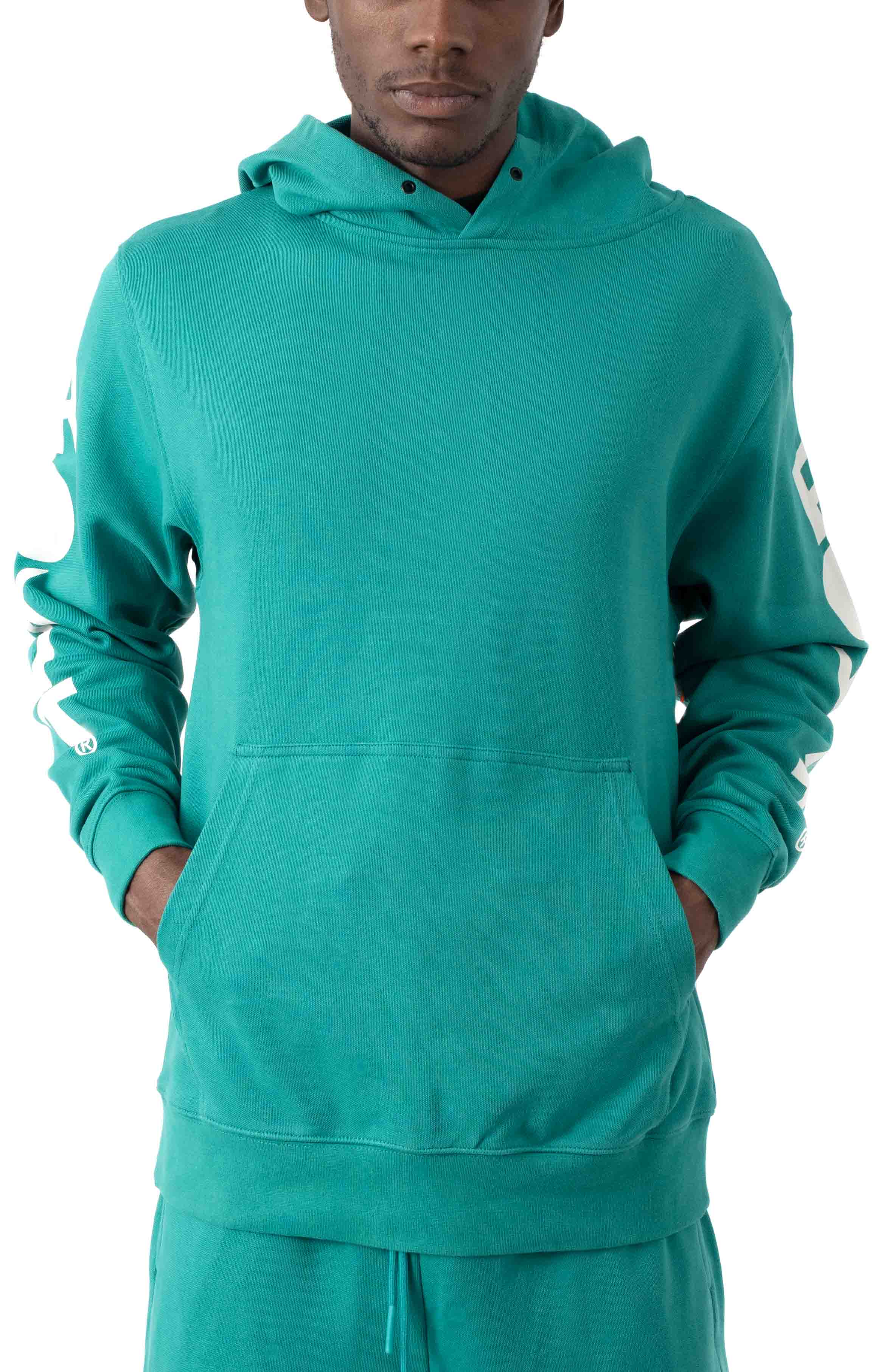 Classic Core Pullover Hoodie - Teal