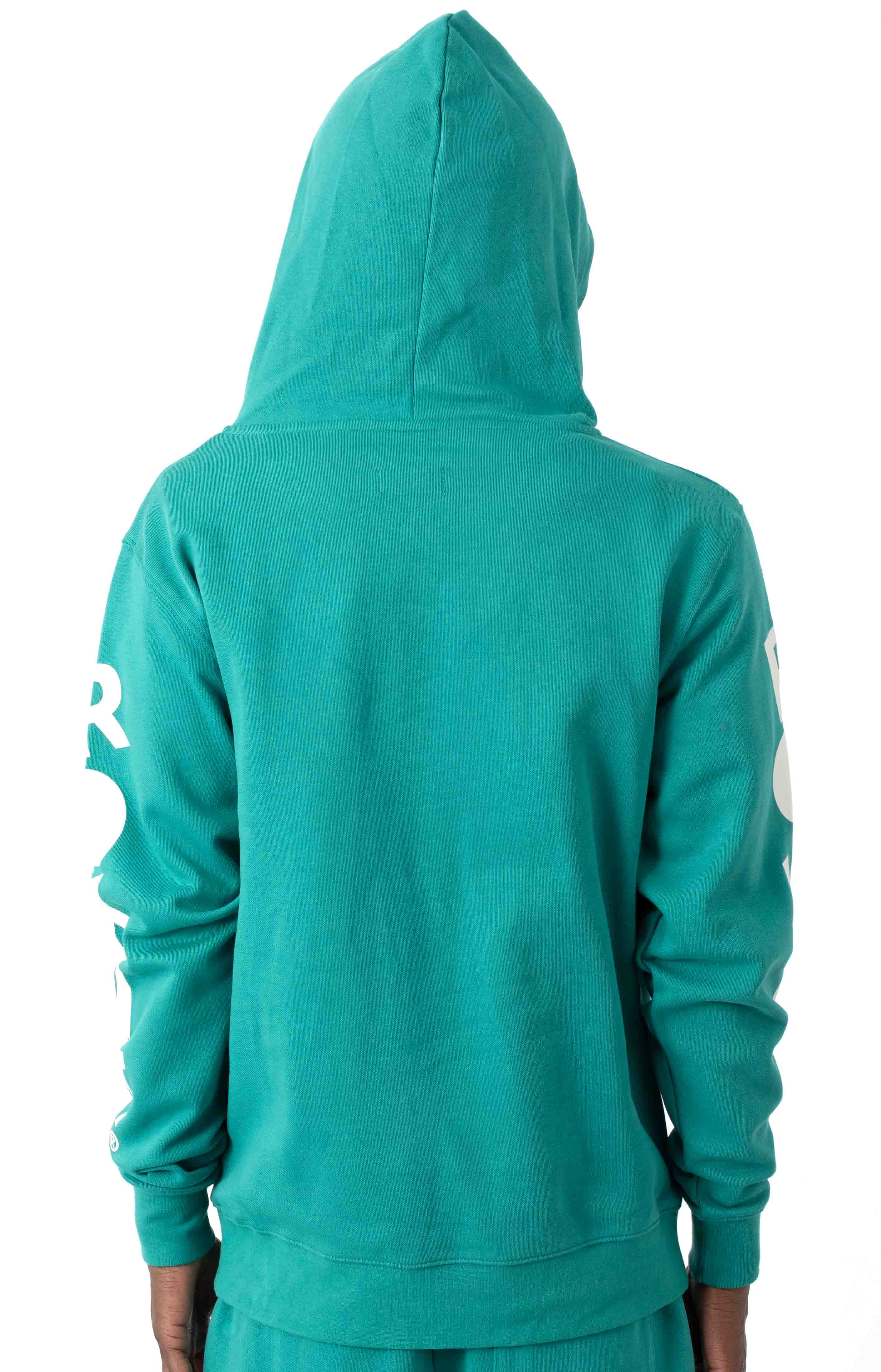 Classic Core Pullover Hoodie - Teal  3