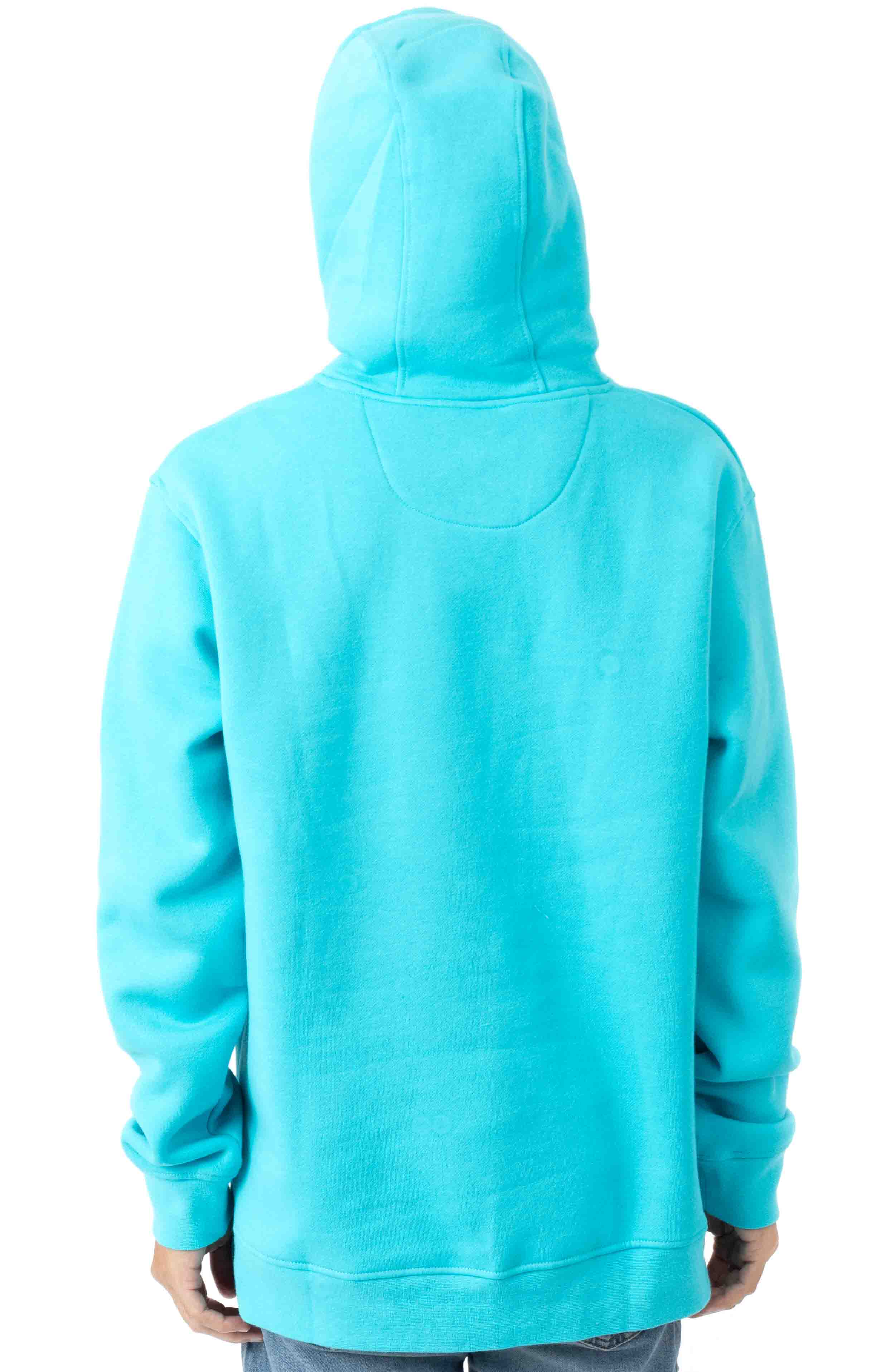 Pigeon Logo Pullover Hoodie - Electric Blue  3