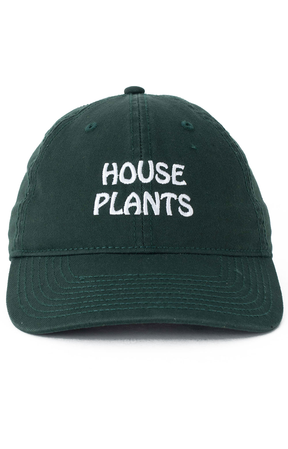 House Plants Dad Hat - Forest Green  2