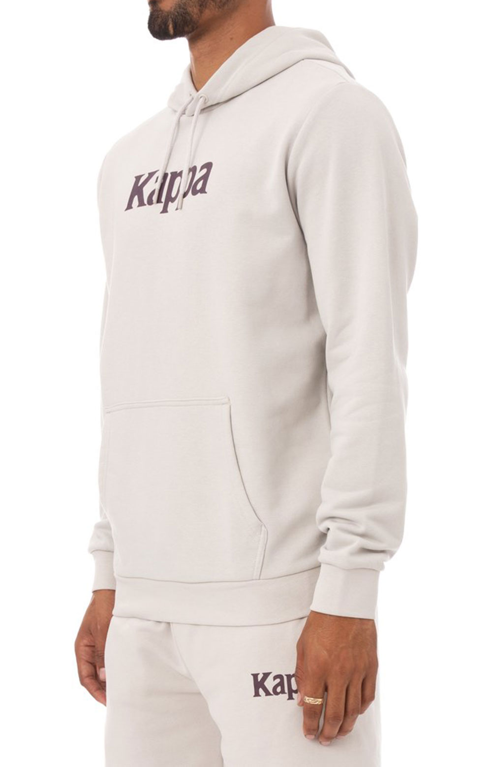 Authentic Haris Pullover Hoodie - Grey Silver 2