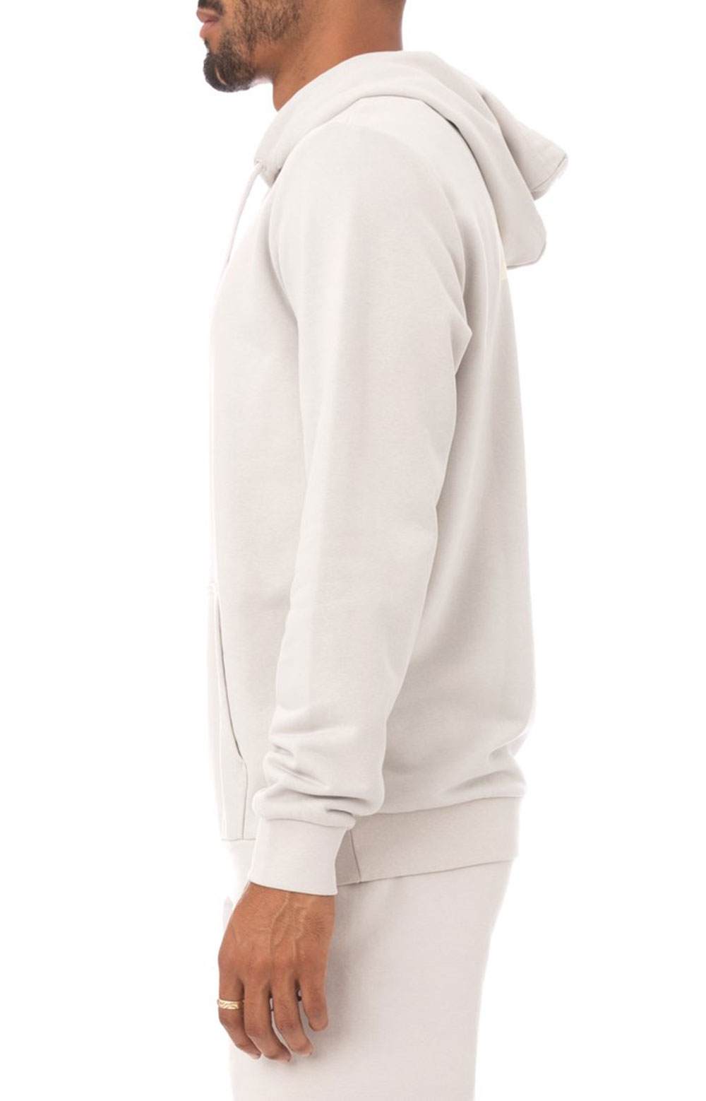 Authentic Haris Pullover Hoodie - Grey Silver 3