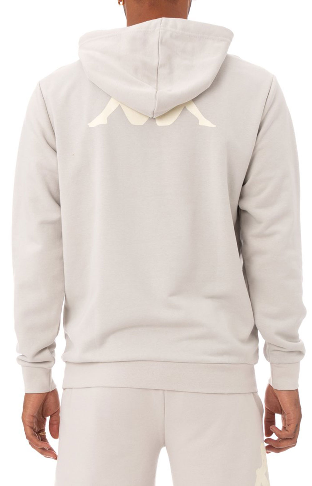 Authentic Haris Pullover Hoodie - Grey Silver 4