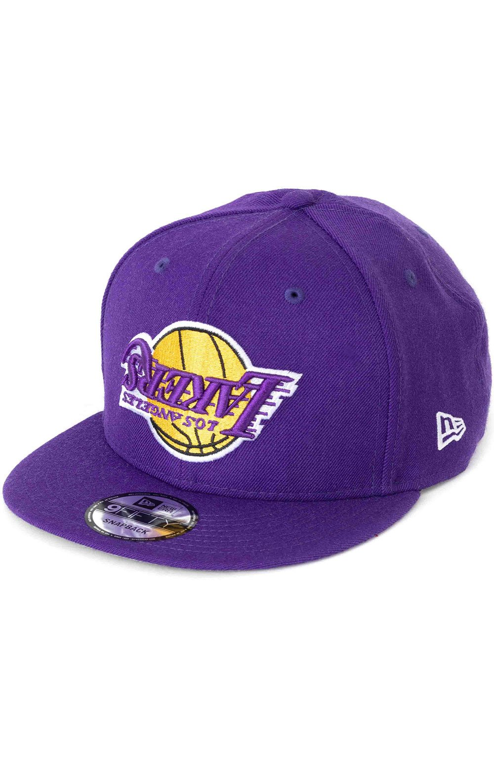 9Fifty Upside Logo Los Angeles Lakers Snap-Back Hat