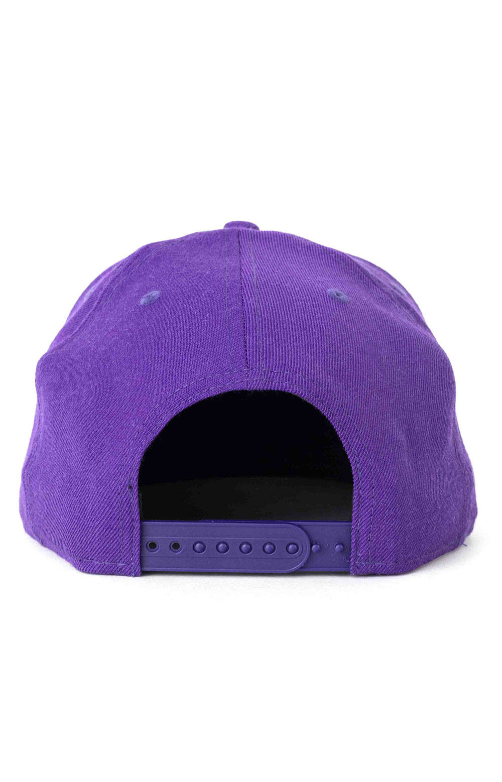 9Fifty Upside Logo Los Angeles Lakers Snap-Back Hat 3