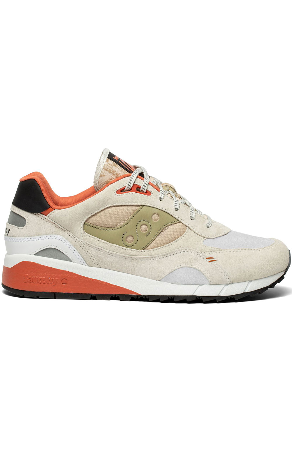 (S70587-3) Shadow 6000 Shoes - White/Clay