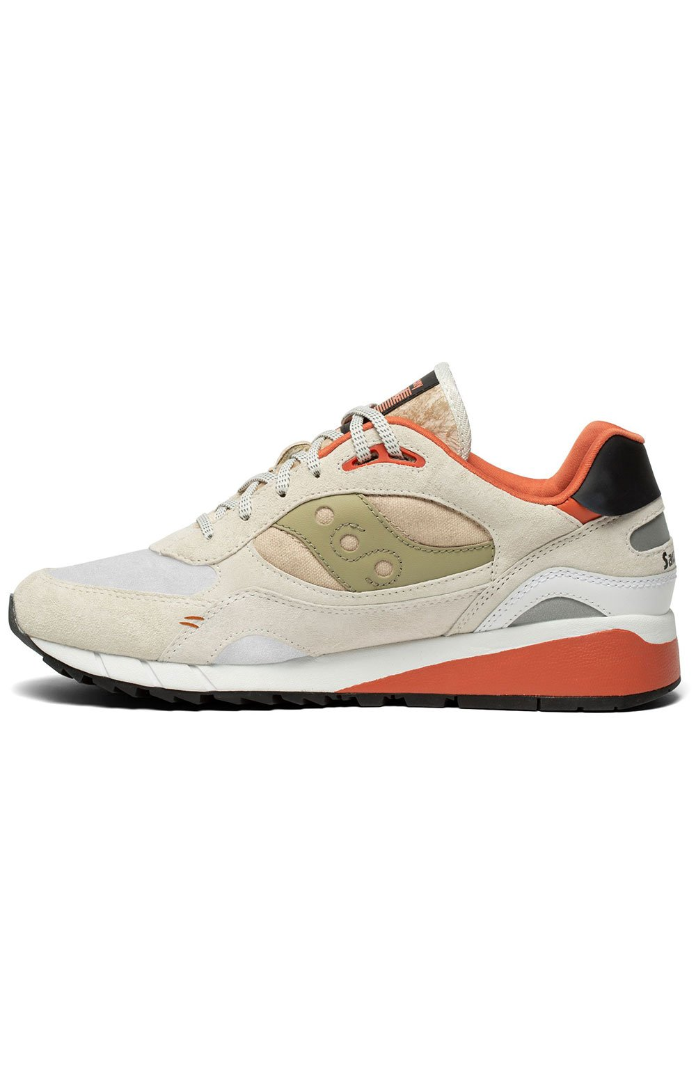 (S70587-3) Shadow 6000 Shoes - White/Clay 2