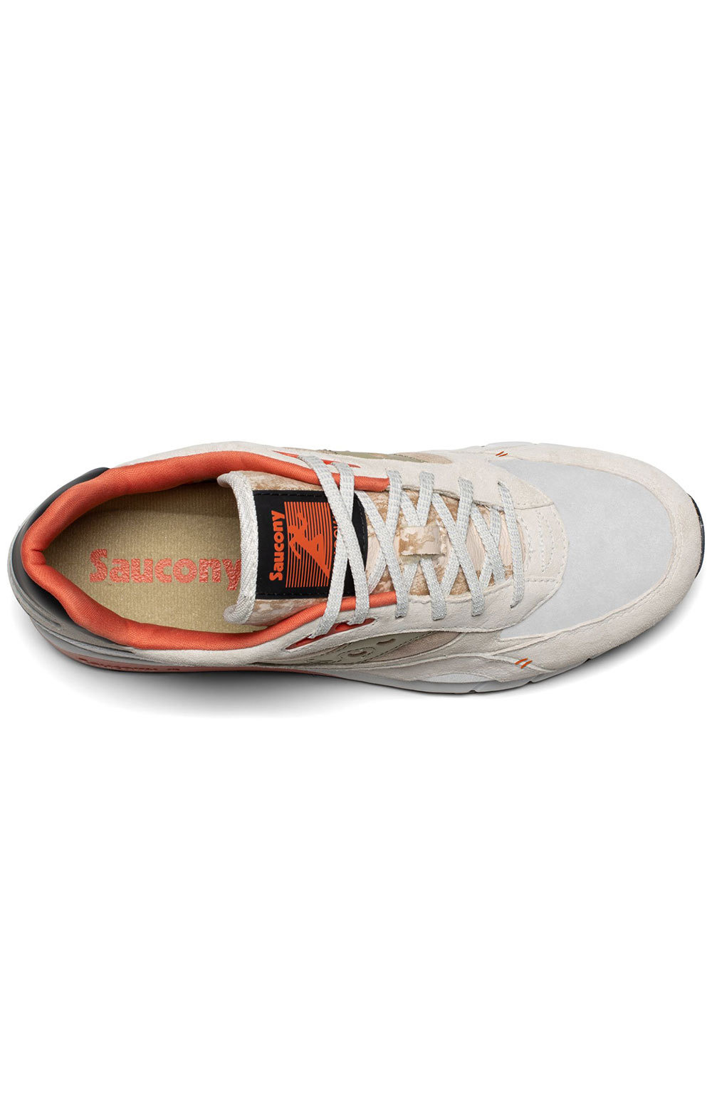 (S70587-3) Shadow 6000 Shoes - White/Clay 3