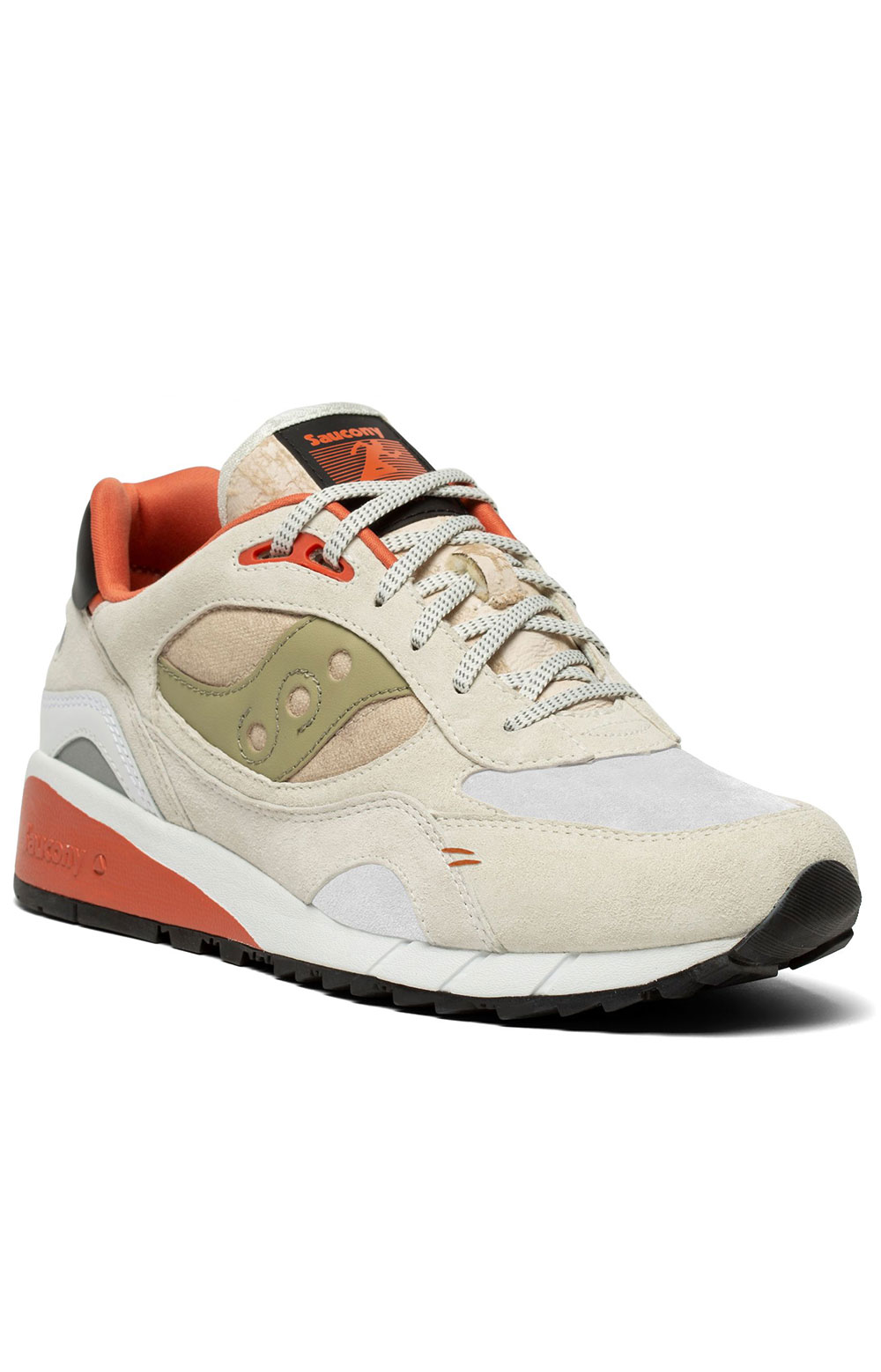 (S70587-3) Shadow 6000 Shoes - White/Clay 5