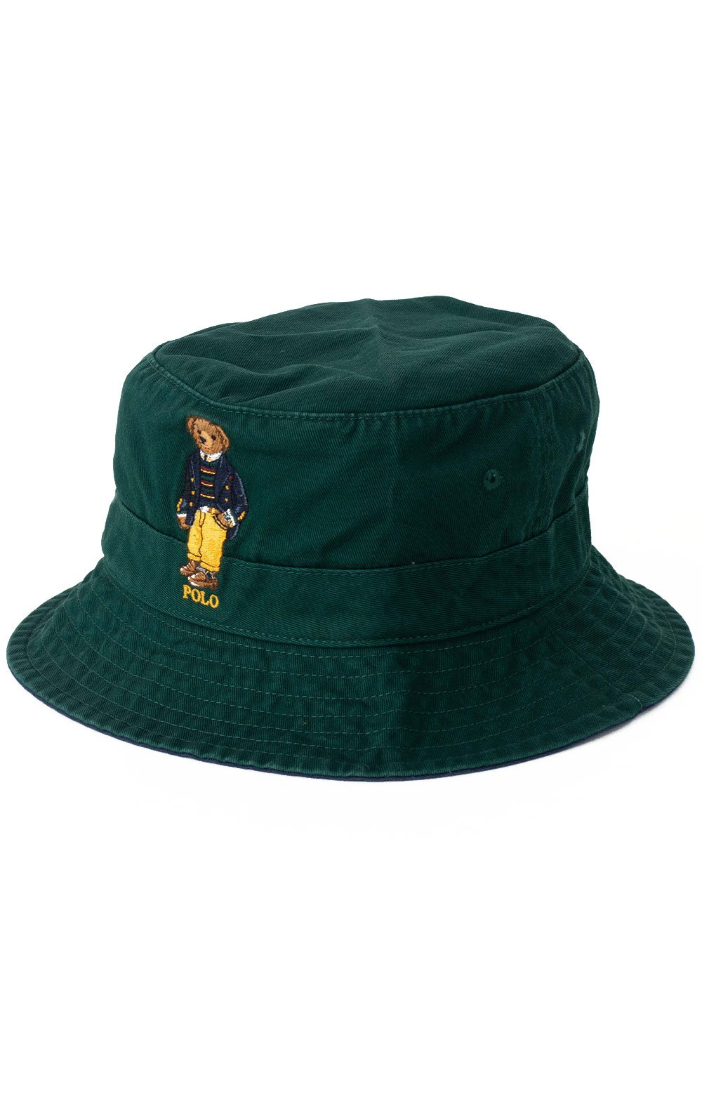 Polo Best Bear Chino Bucket Hat - College Green  2