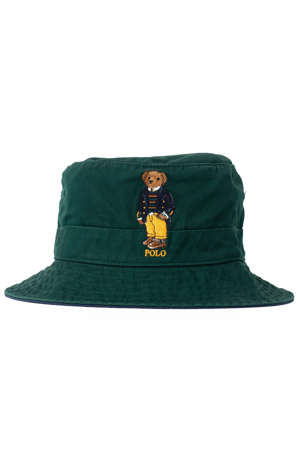 Polo Best Bear Chino Bucket Hat - College Green