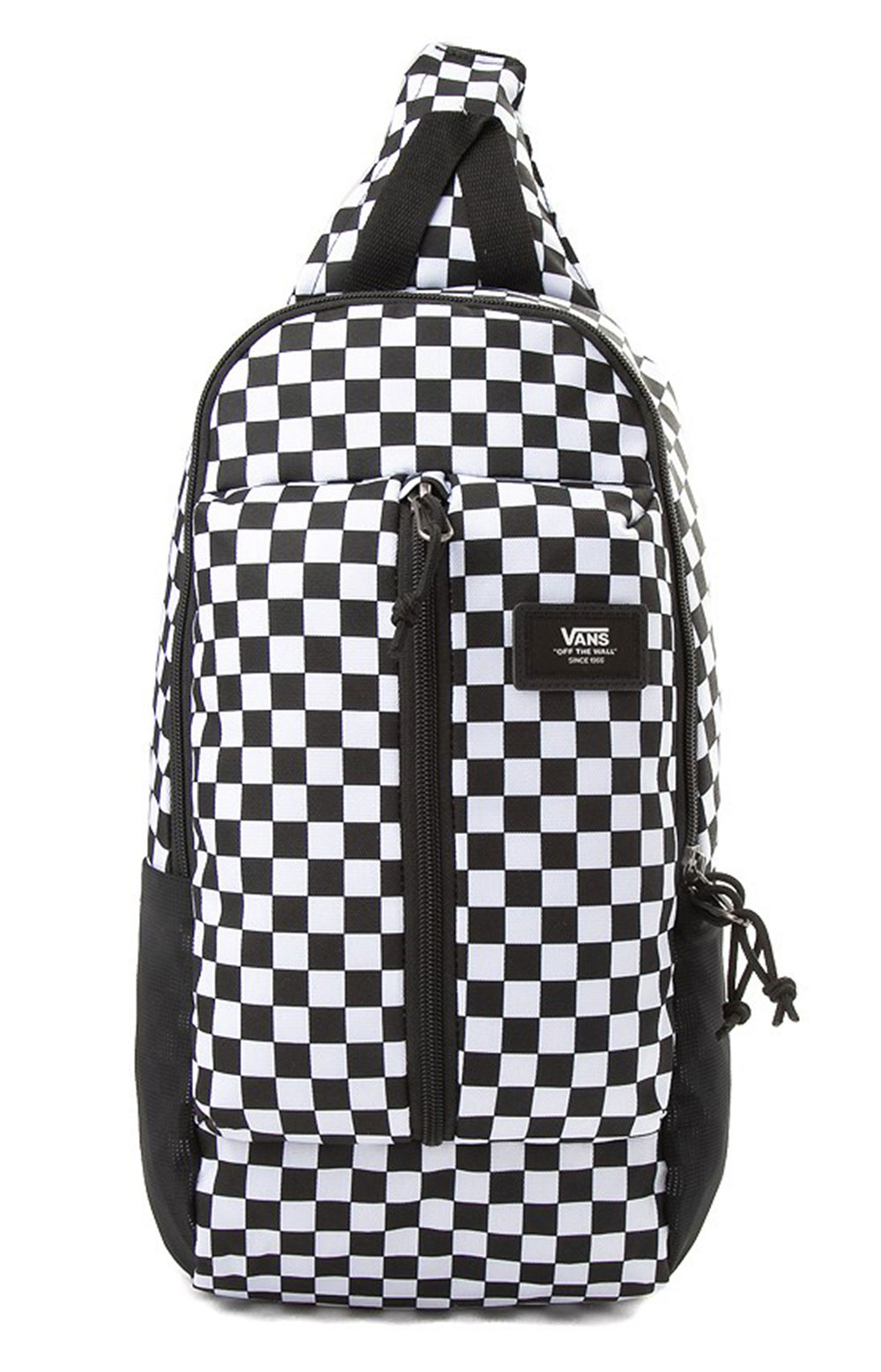 Warp Sling Bag - Black/White