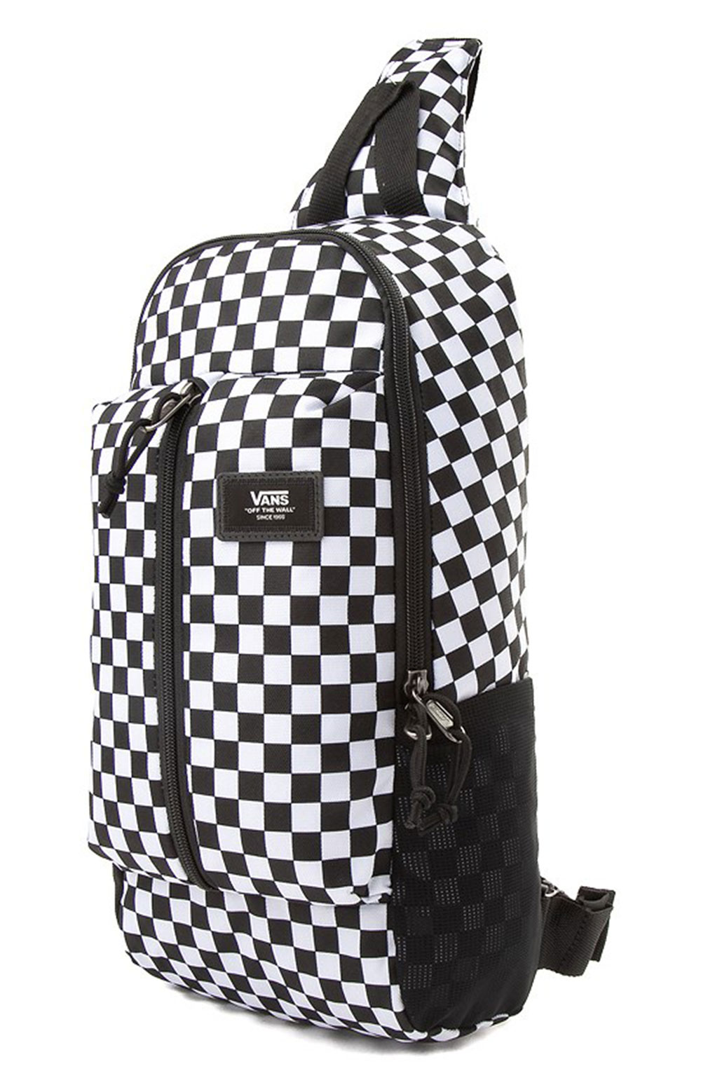 Warp Sling Bag - Black/White 3