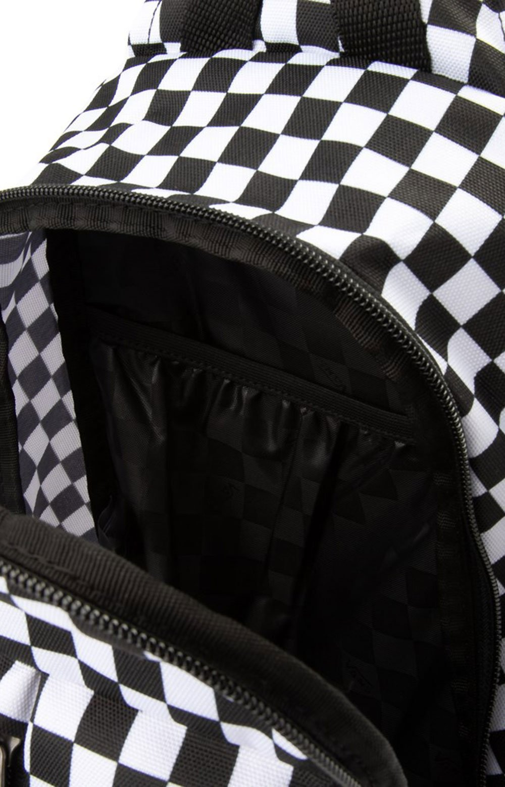 Warp Sling Bag - Black/White 4