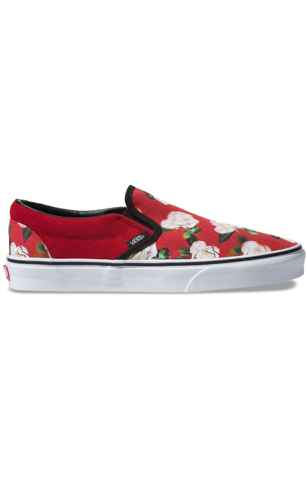 (8F7VMI) Romantic Floral Classic Slip-On Shoe - Chili Pepper