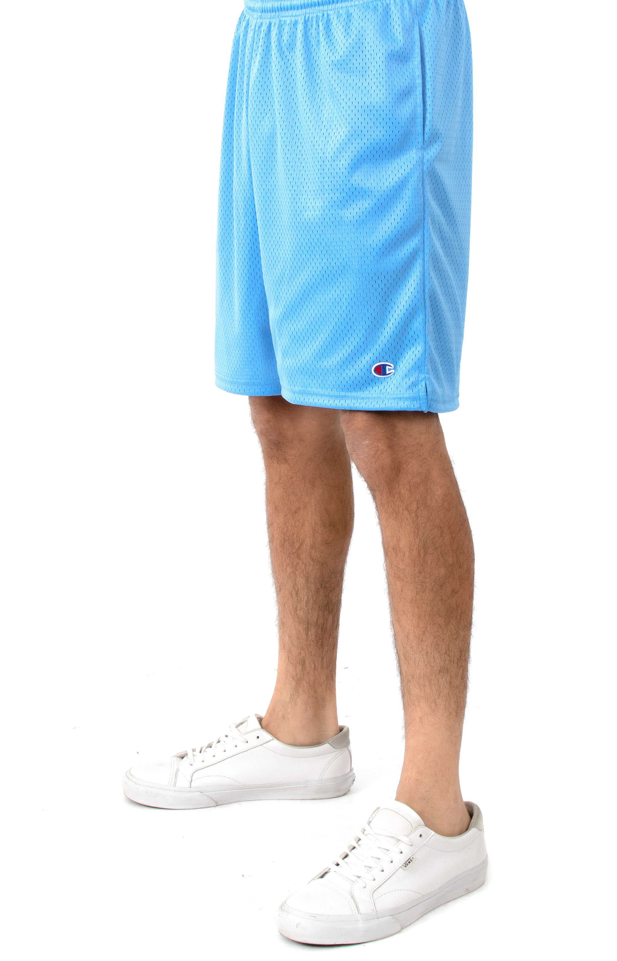Pocket Mesh Shorts - Swiss Blue