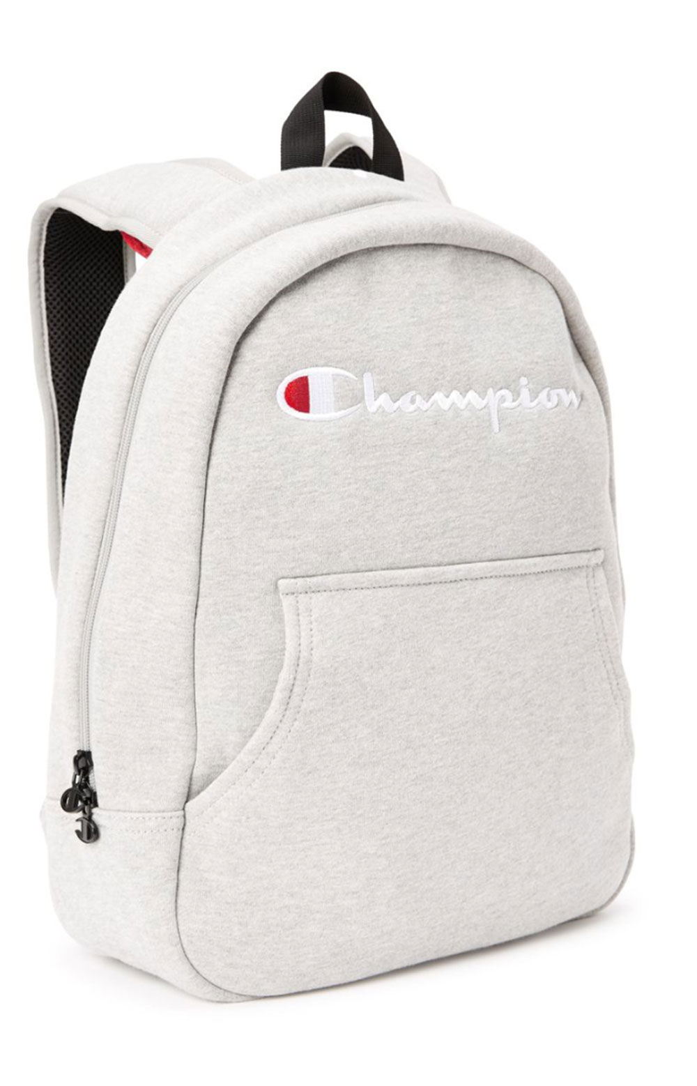 (CH1055) Reverse Weave Hoodie Backpack - Medium Grey