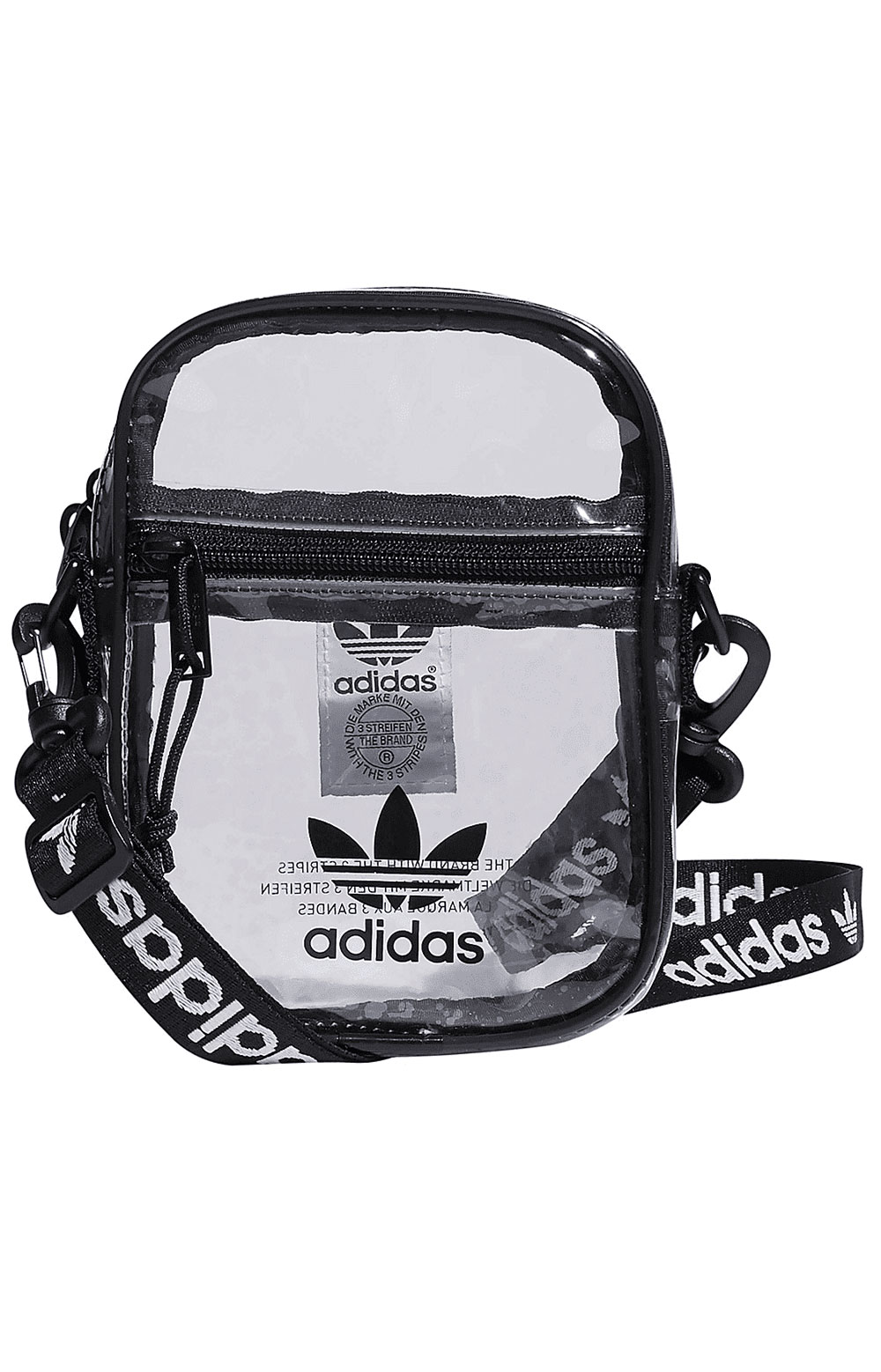Originals Clear Festival Crossbody Bag - Black