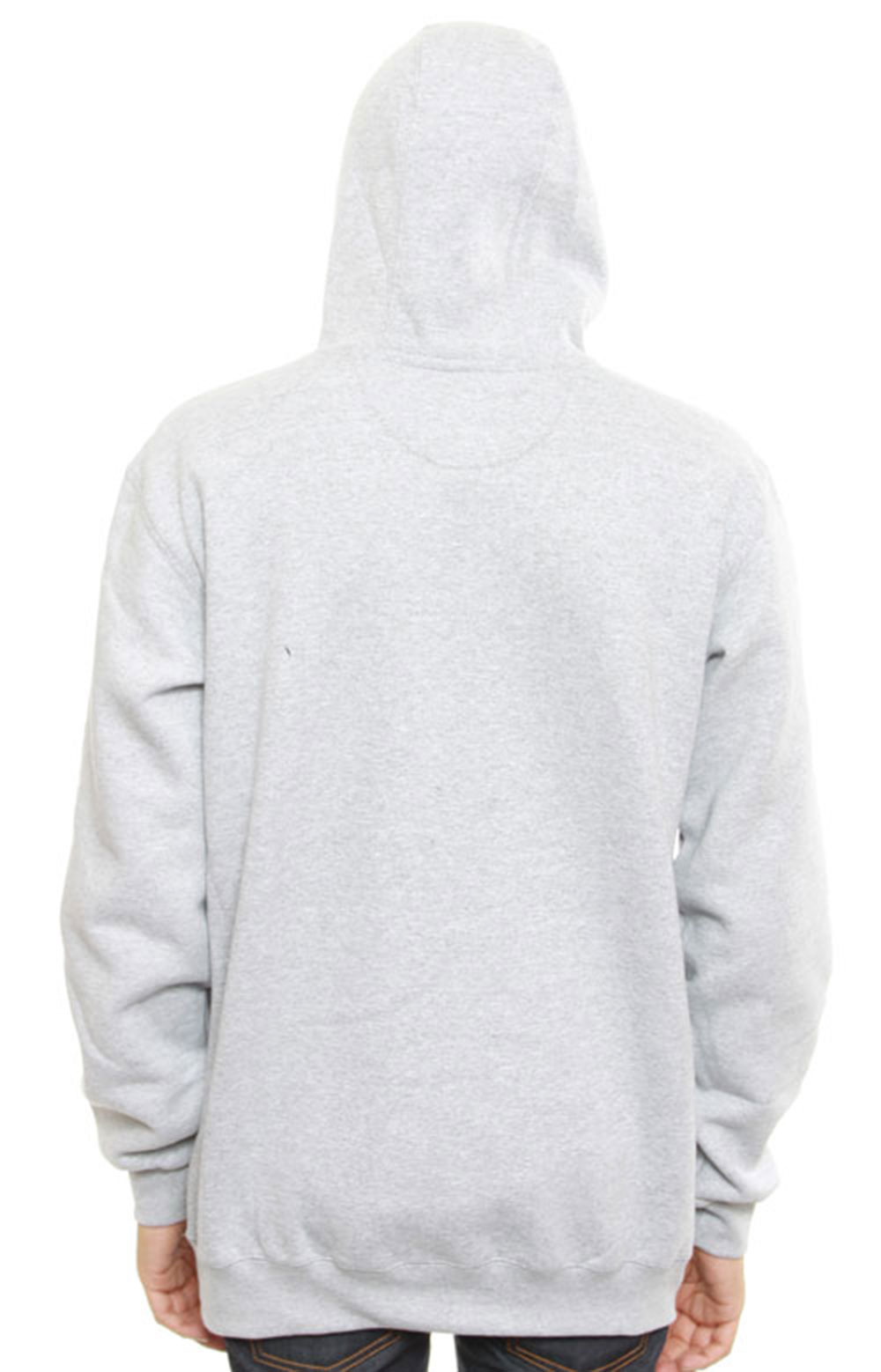 (K121) Midweight Pullover Hoodie - Heather Grey 2