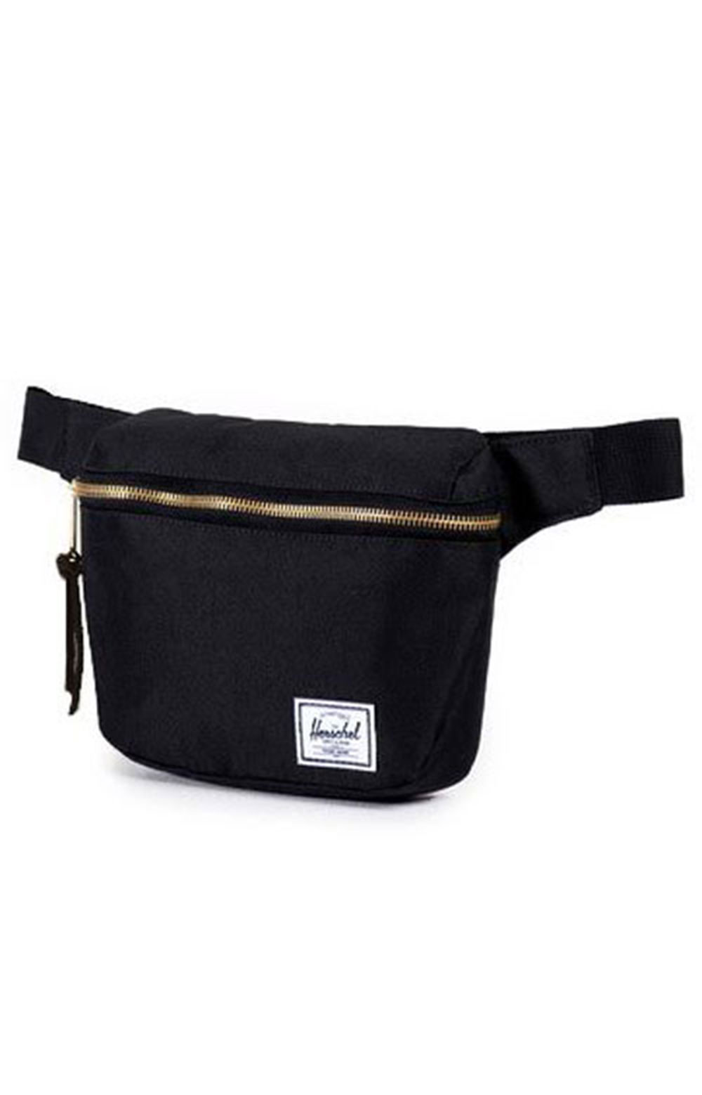 Fifteen Hip Pack - Black/Black Leather Pull 3
