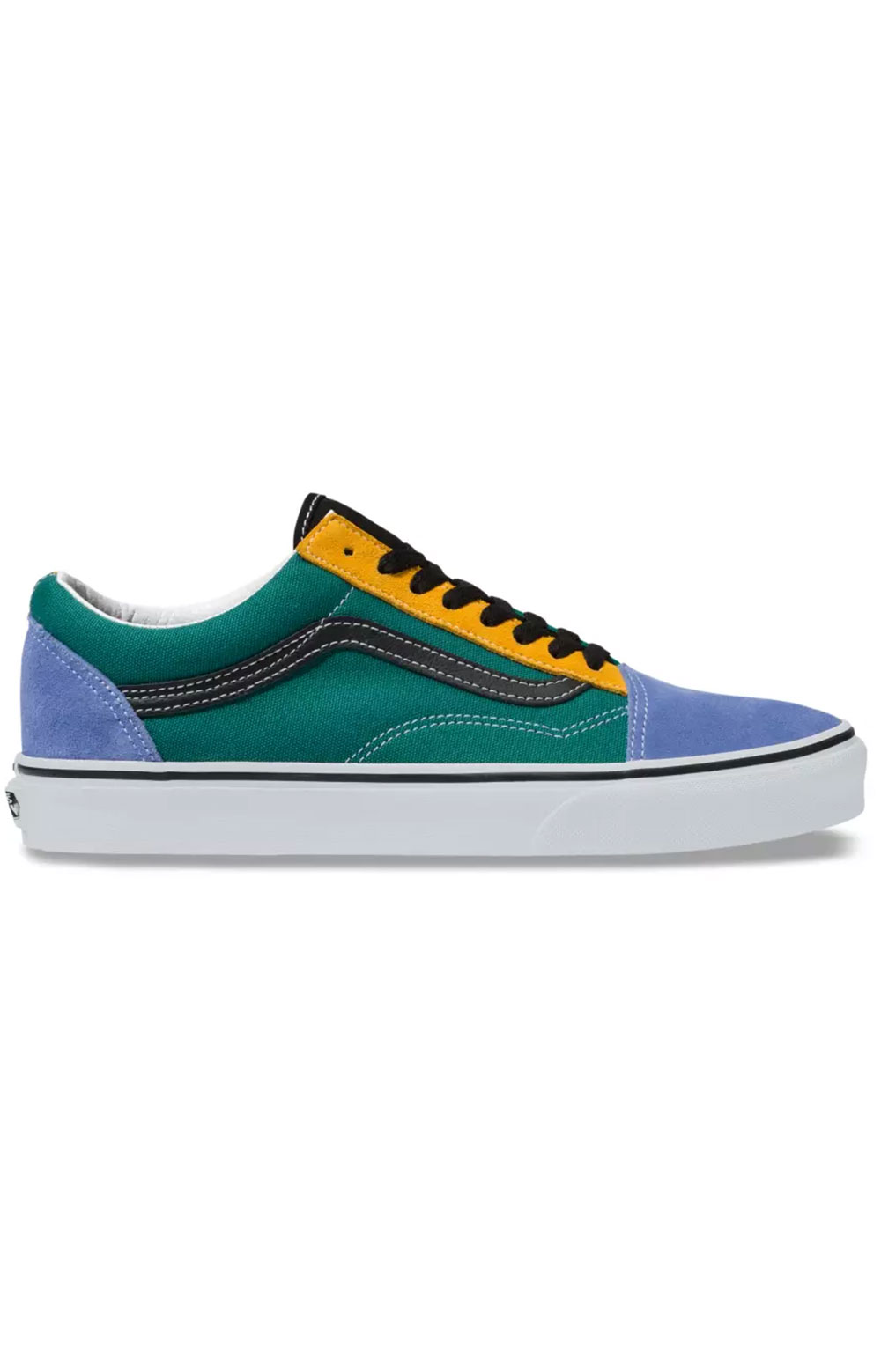 (BV5TGN) Mix & Match Old Skool Shoe - Cadmium Yellow/Tidepool