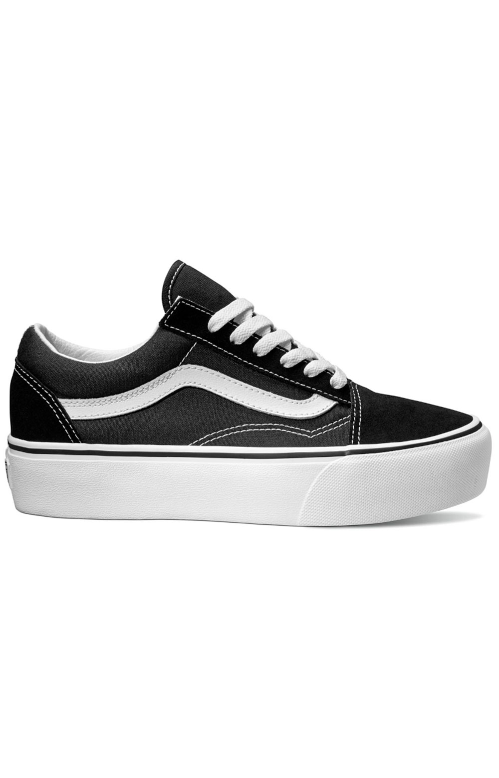 (B3UY28) Old Skool Platform Shoe - Black/White