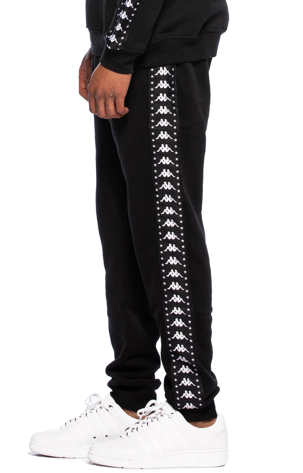Authentic Amsag Slim Fit Sweatpants - Black/White