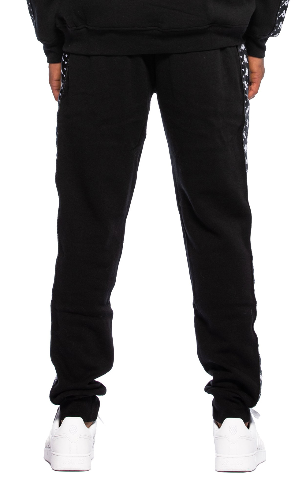 Authentic Amsag Slim Fit Sweatpants - Black/White 3