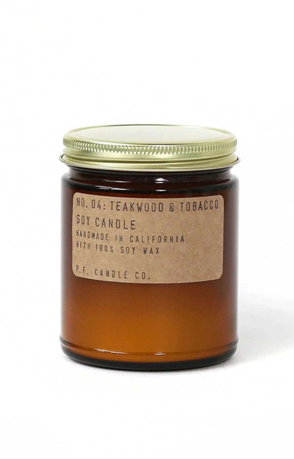 Teakwood & Tobacco Soy Candle - 7.2 Oz