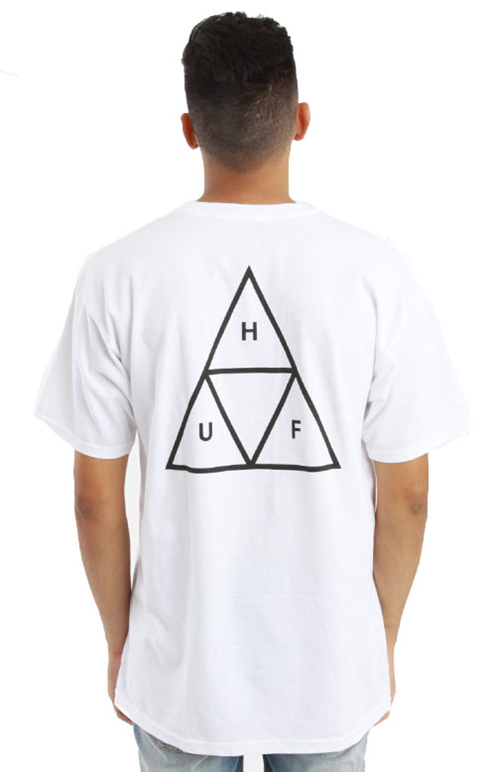 Triple Triangle T-Shirt - White/Black