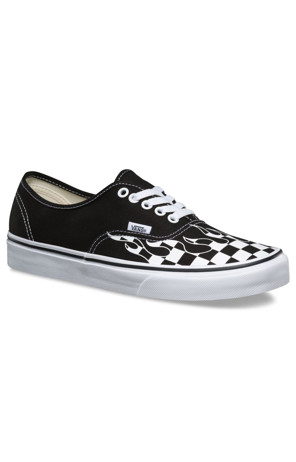 ... Checker Flame Authentic Shoe - Black. Thumbnail 1 Thumbnail 1 Thumbnail  1 ... 1bc1a3b22