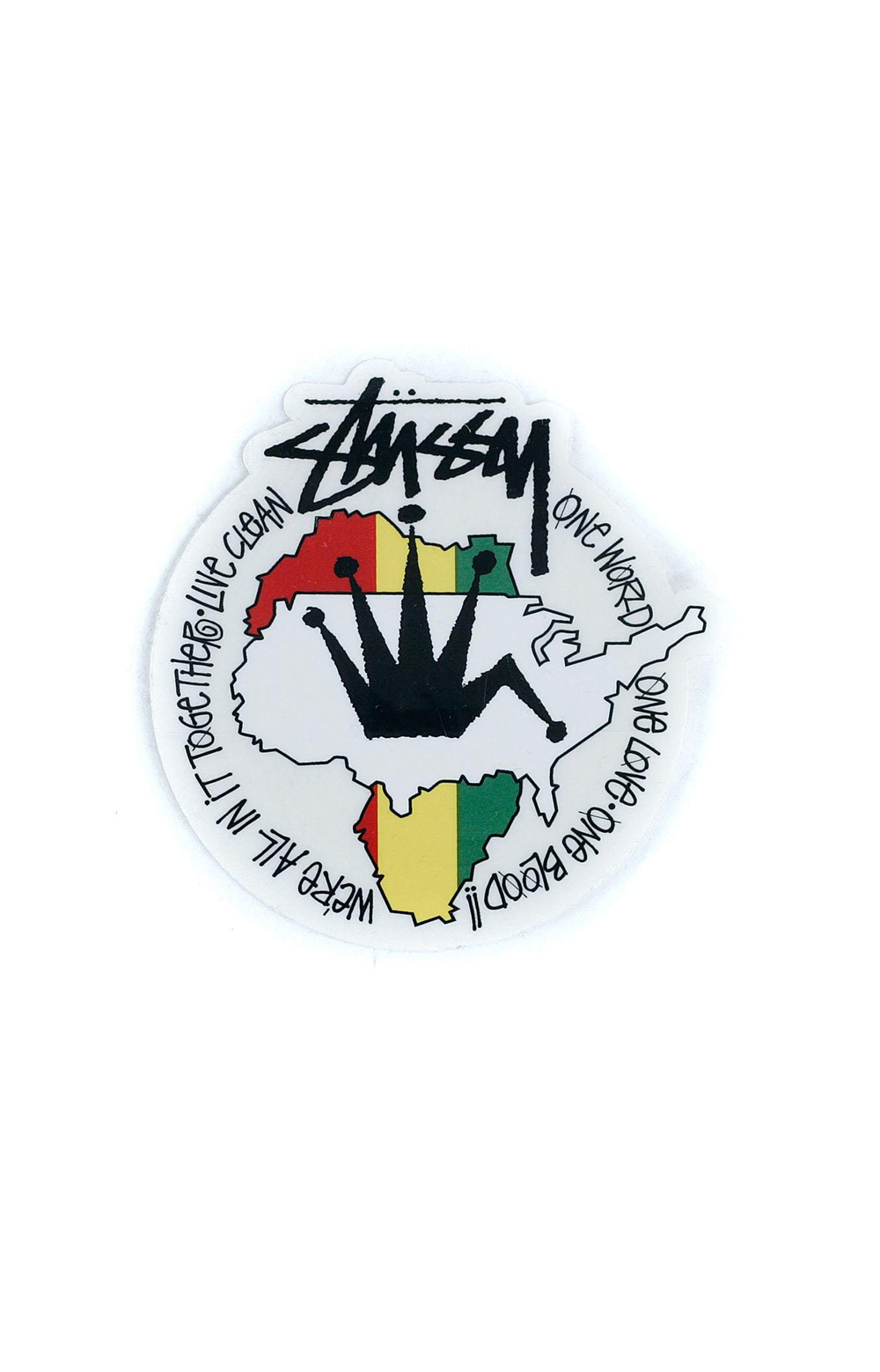Stussy 77429 Live Clean Decal