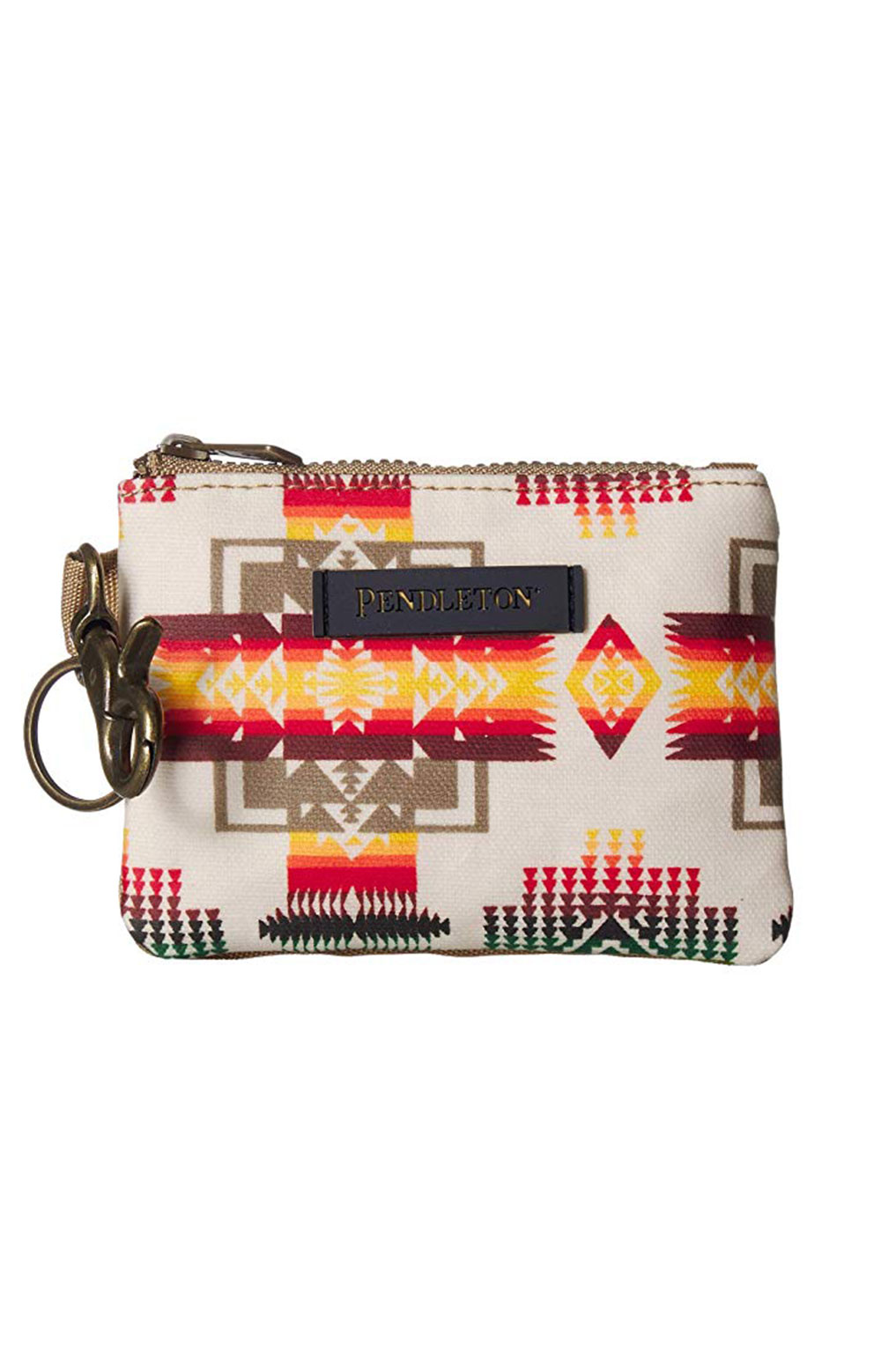 Canopy Canvas ID Pouch Key Ring - Chief Joseph