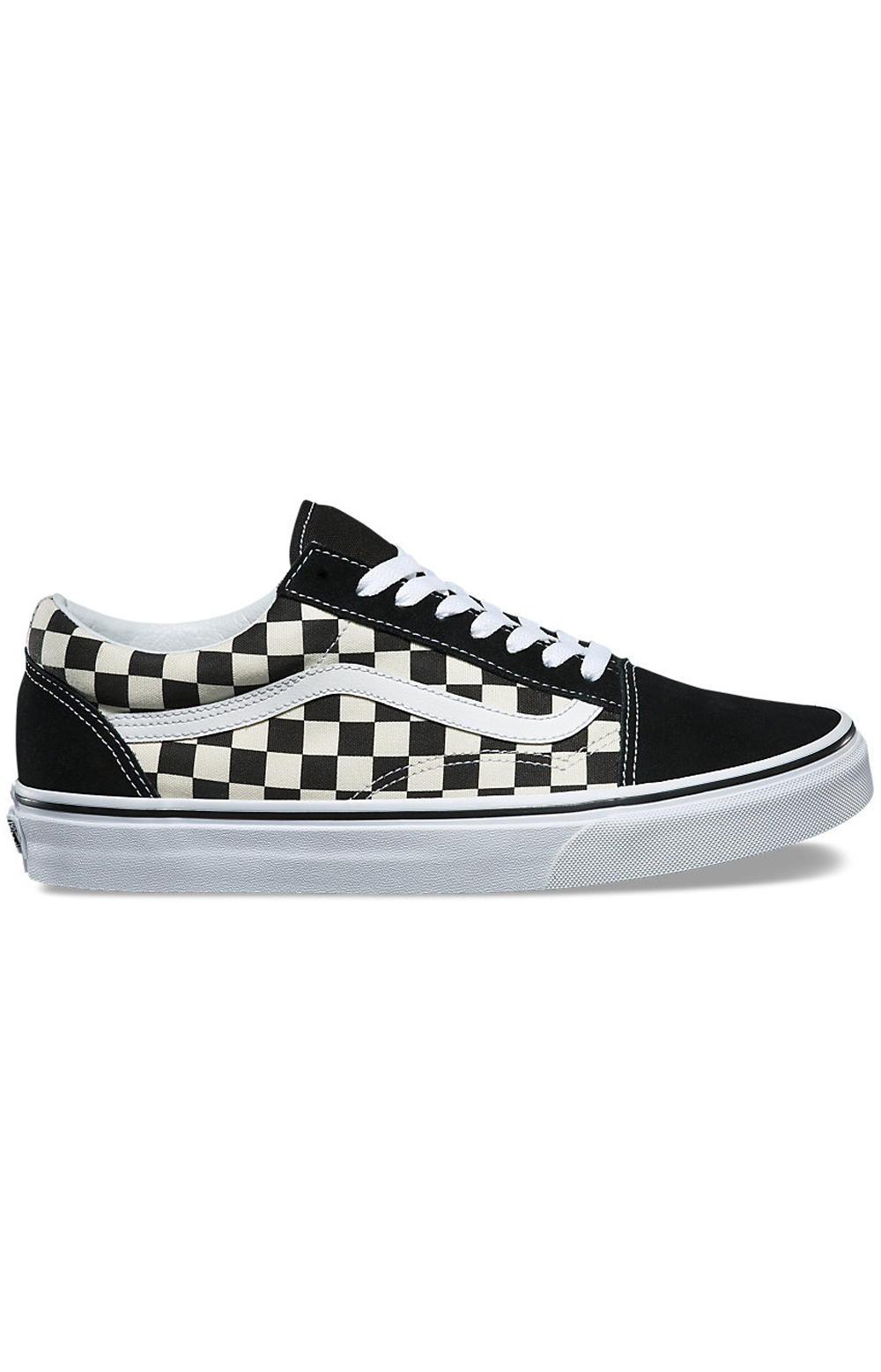 (8G1P0S) Primary Check Old Skool Shoe - Black/White